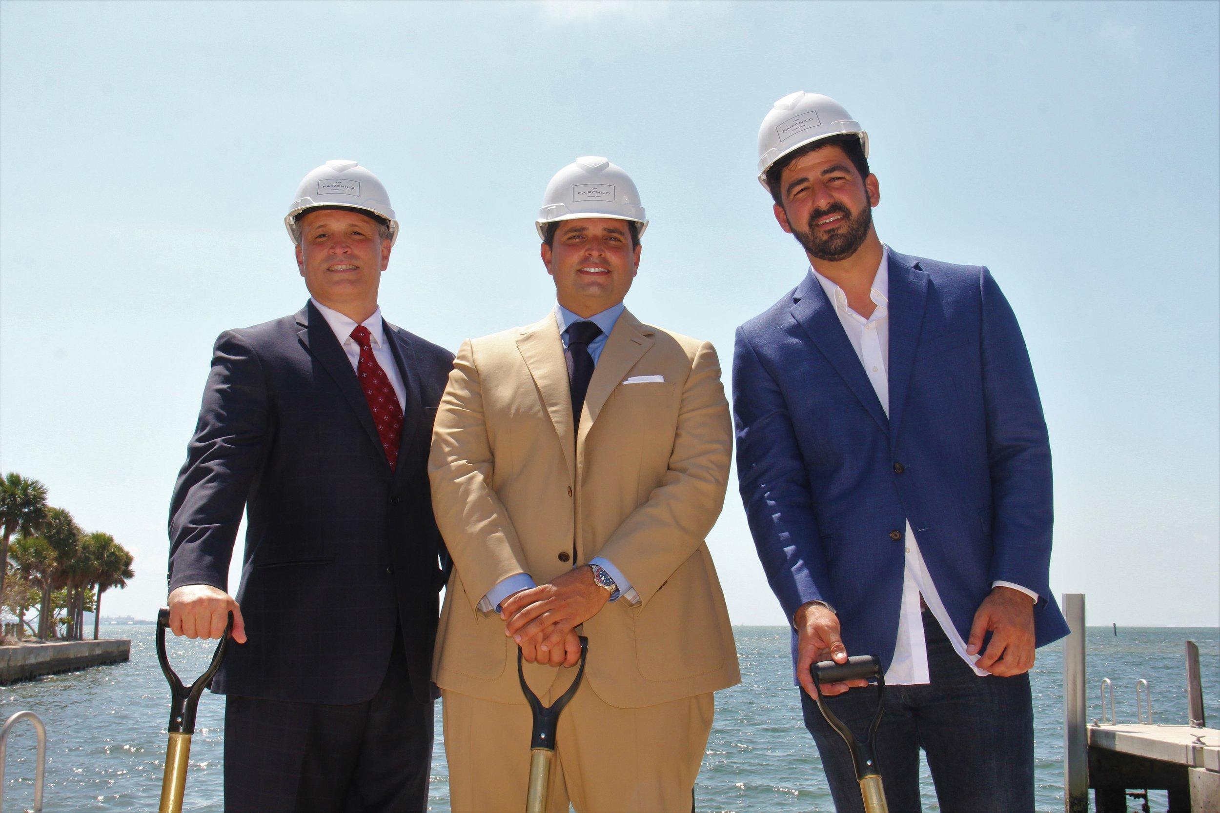 Oscar Rodriguez, Ricardo Vadia, Daniel Ayo