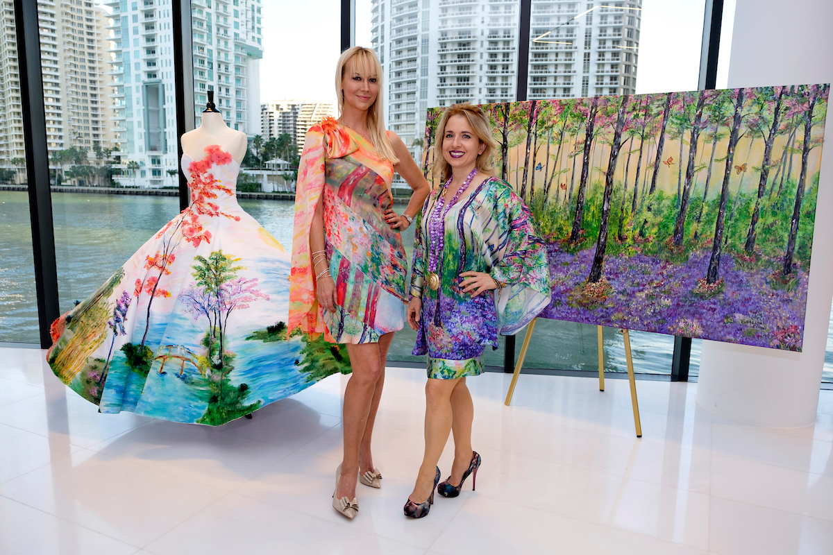 Griselda Lechini & Tammy Apostol G&G Business Developments & The Luxury Collection Celebrate A Fusion Of Art And Fashion At Aston Martin Residences