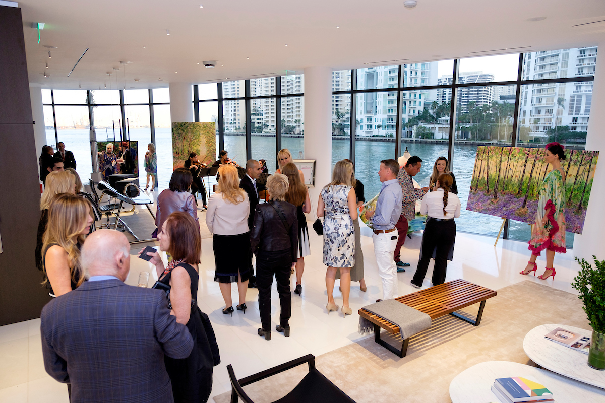 G&G Business Developments & The Luxury Collection Celebrate A Fusion Of Art And Fashion At Aston Martin Residences