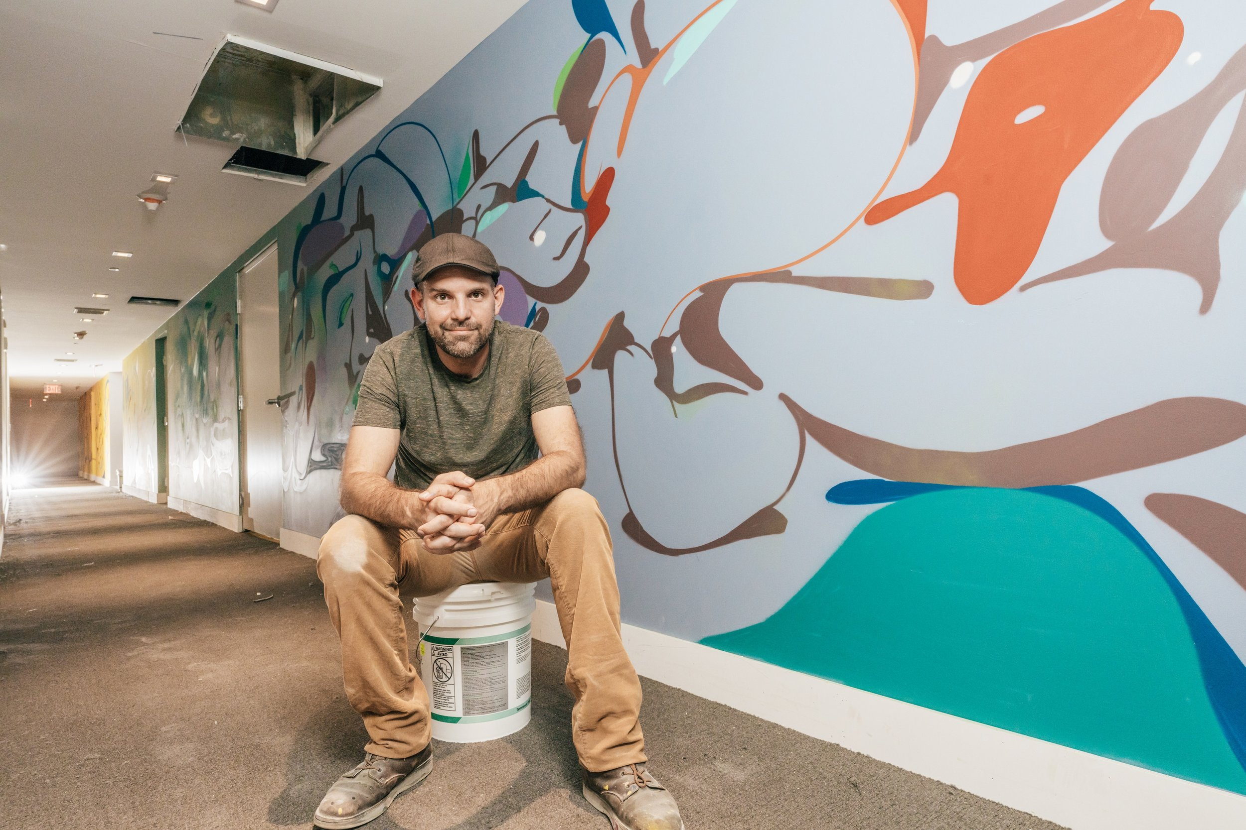 """CANVAS Reveals New Renderings Of Lifestyle Amenities & 1st Mural By Daniel """"Krave"""" Fila"""