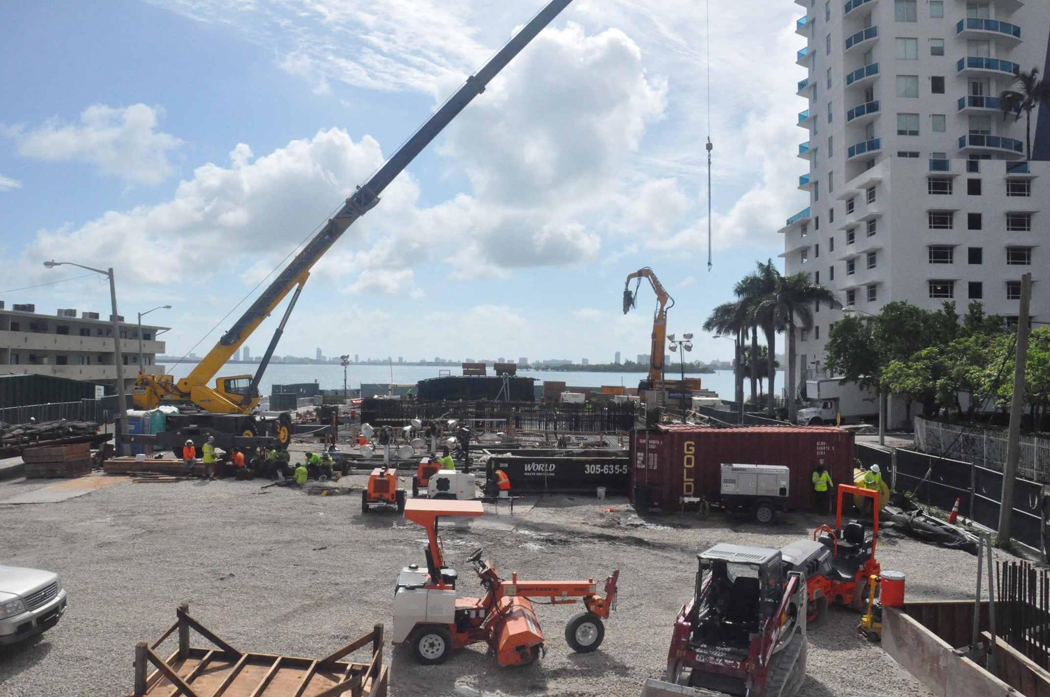 Two Roads Development Completes 20+ Hour Concrete Foundation Pour At The 57-Story Elysee in Edgewater
