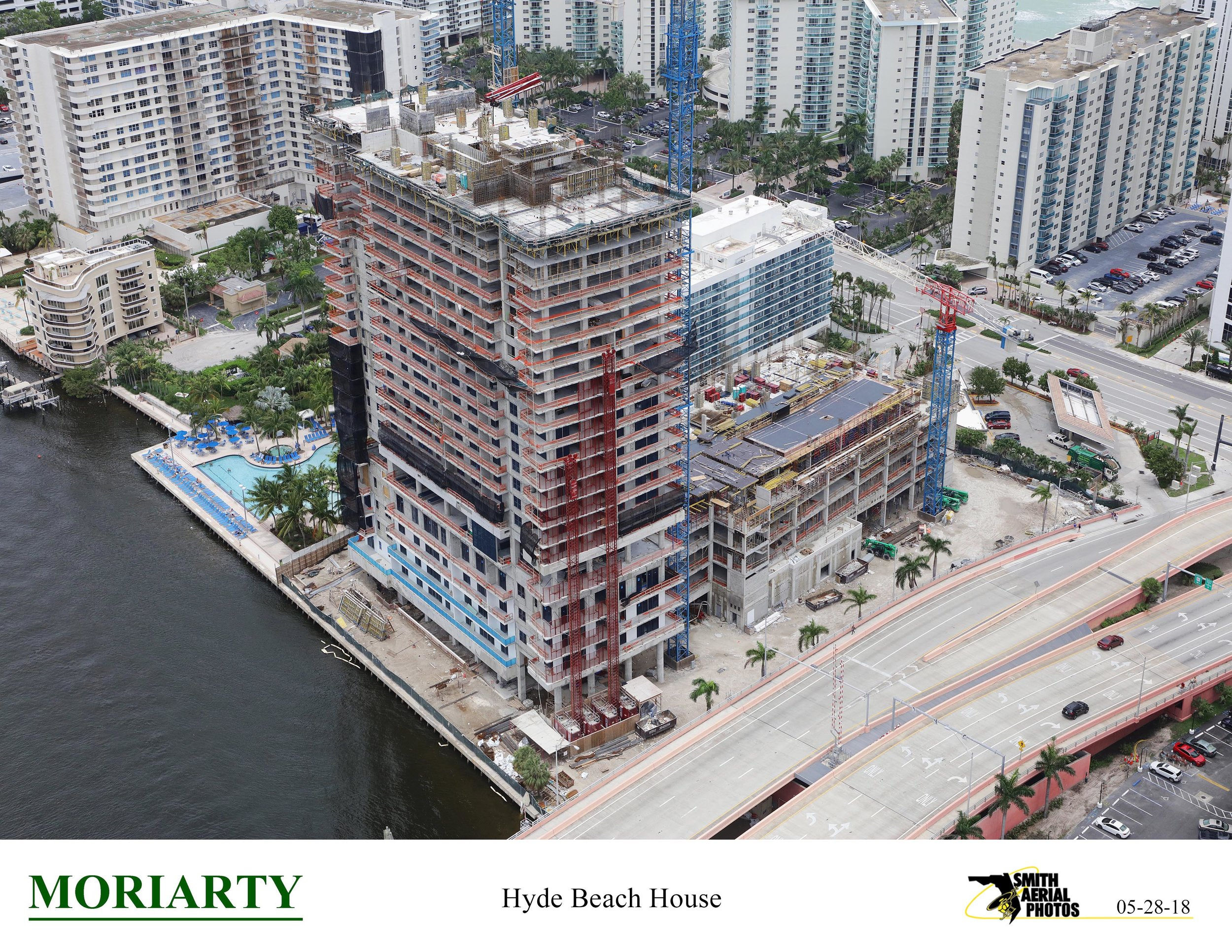 Related Group & sbe Announces Construction At 85% Sold Hyde Beach House Passes Halfway