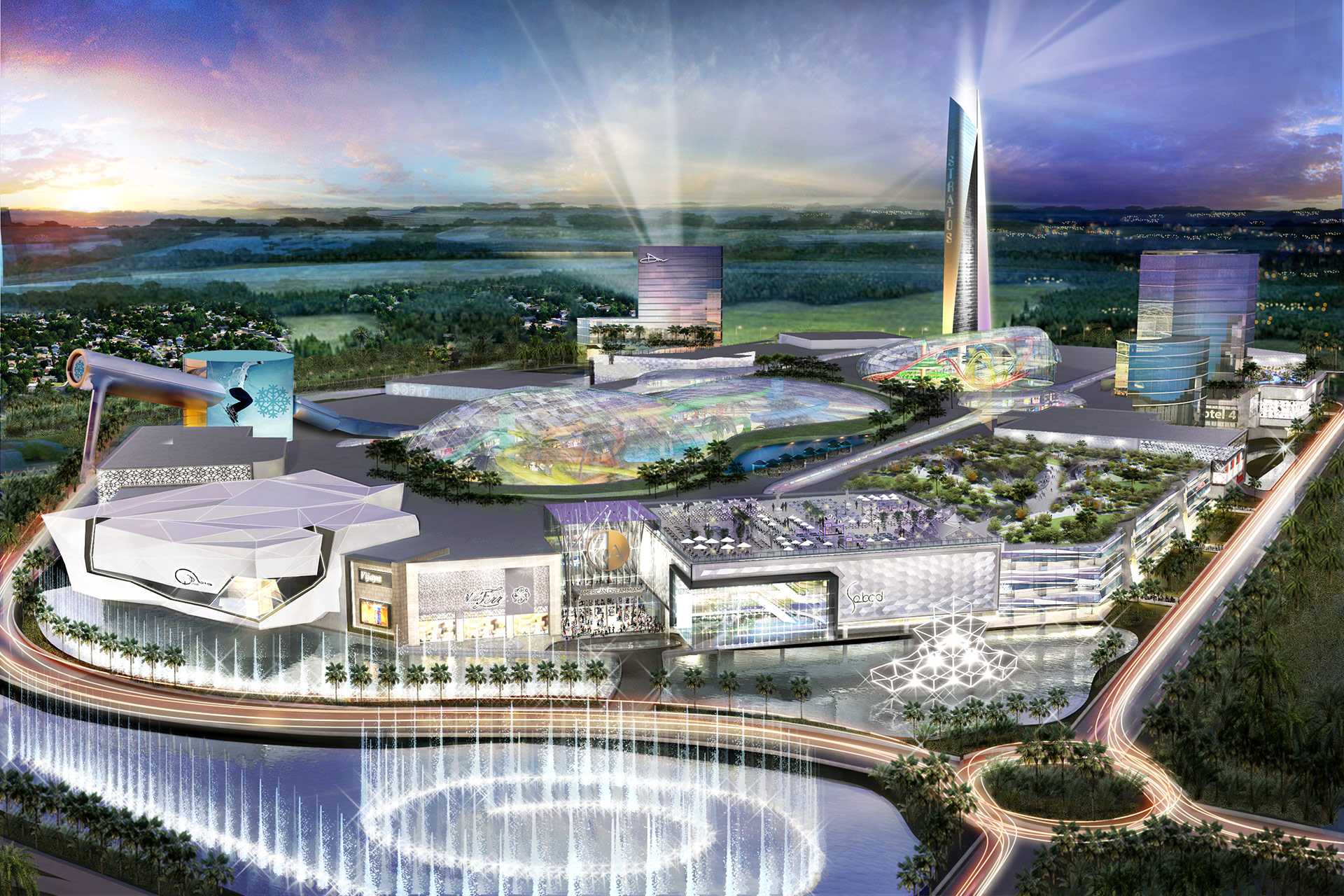 American Dream Miami Approved To Bring America's Largest Mall To Miami-Dade