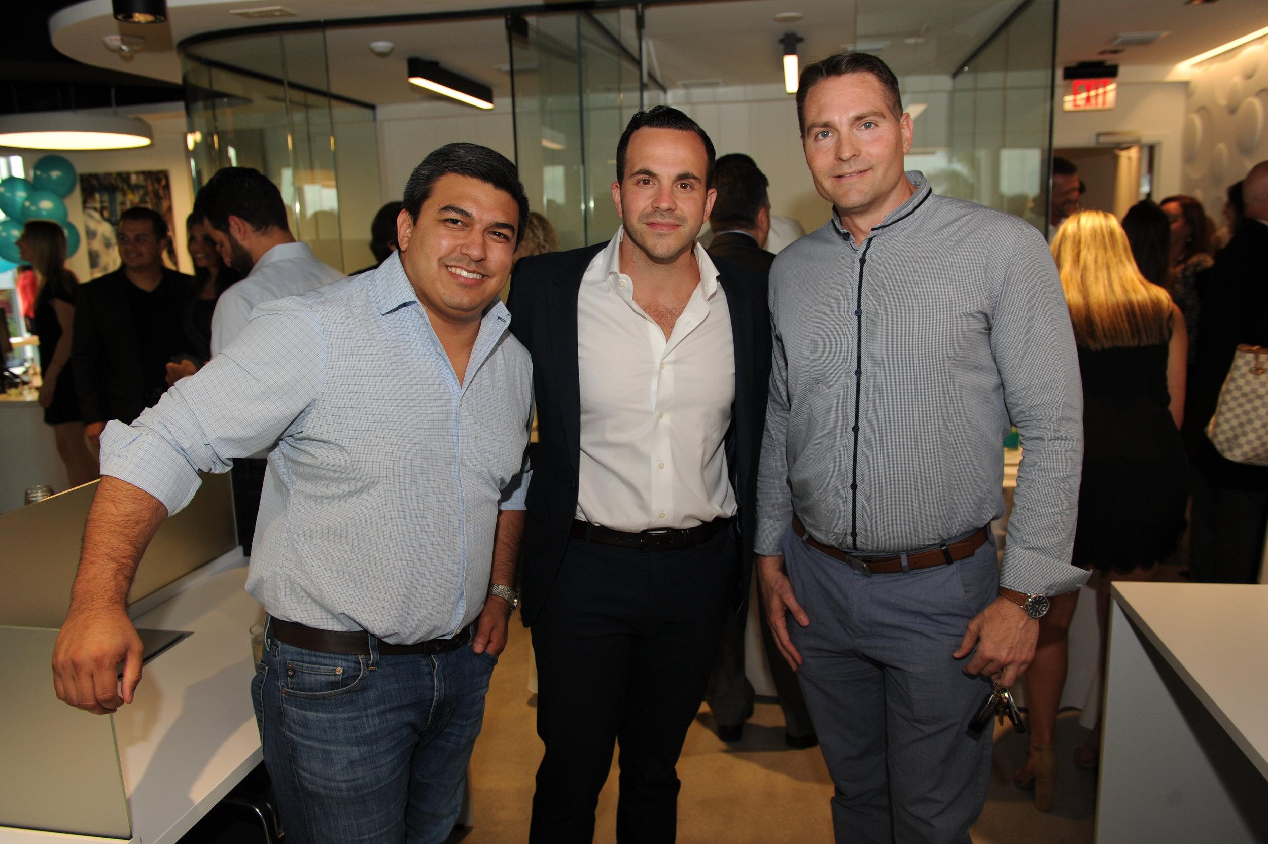 David Moyal, Rafael Montejo, & Brian Carter