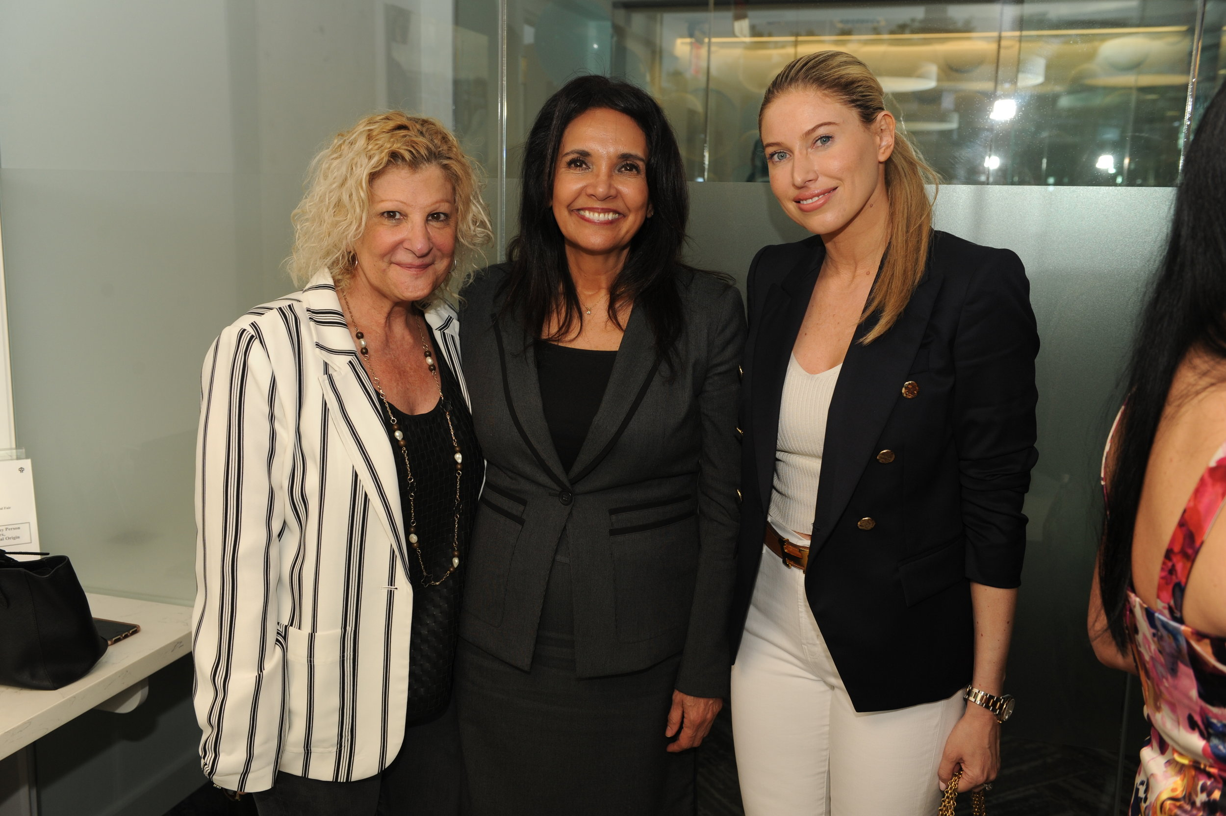 Ceci Samaja, Maggie Buck, & Dina Goldentayer