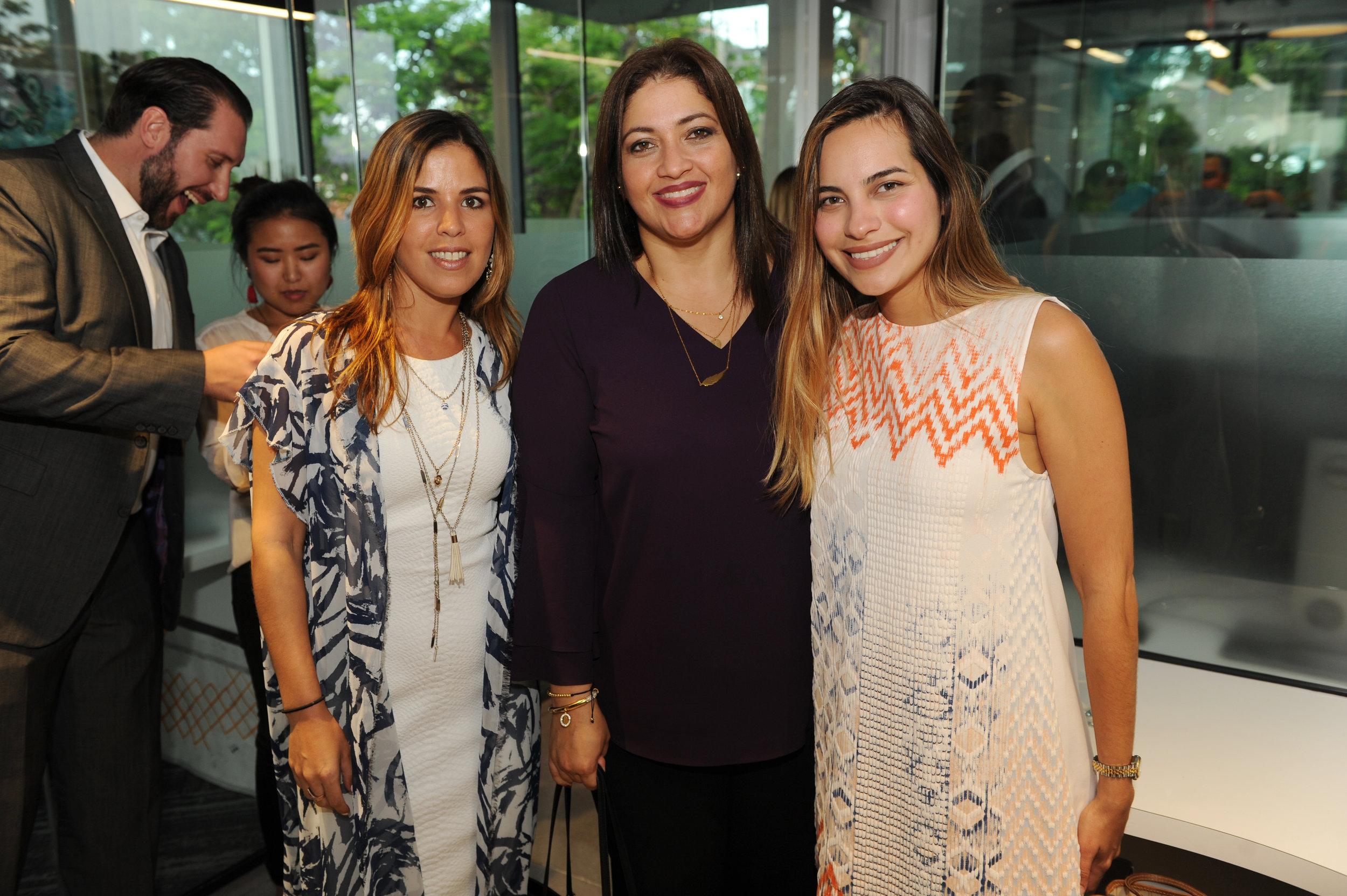 Viviana Taylor, Betty Zapata, & Stephania Stefanelli
