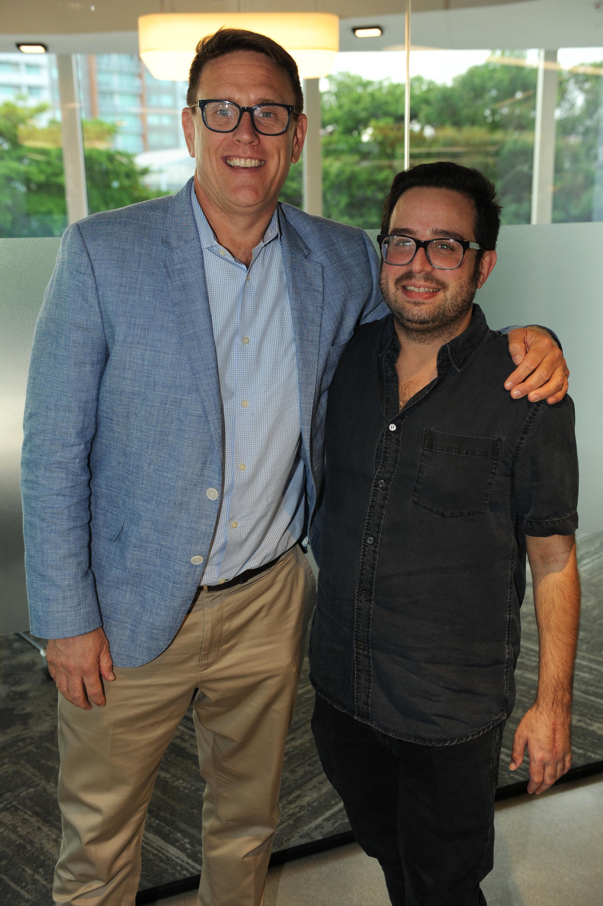 Stephen Larkin & Danny Diaz