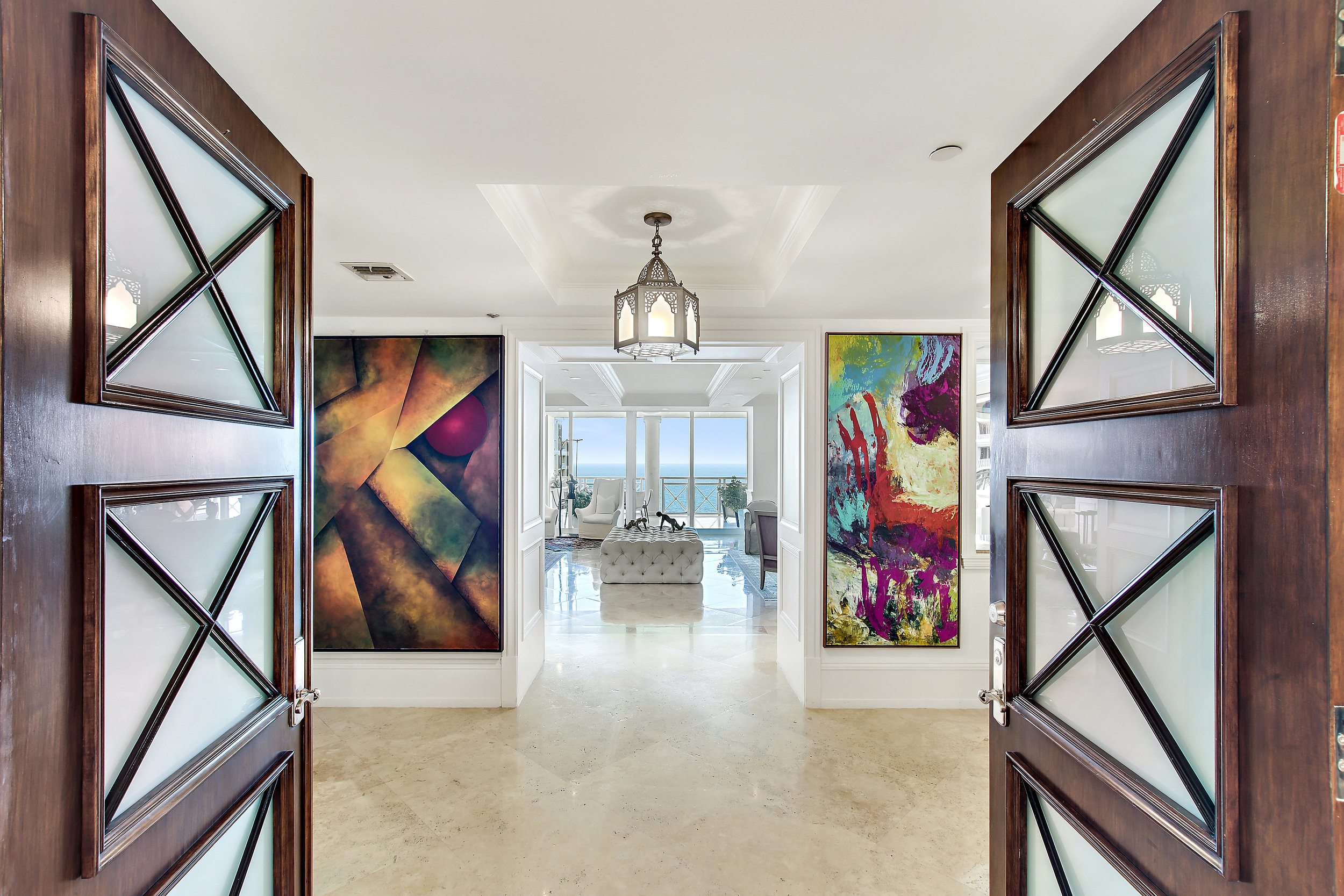 Tour An Exquisite Mansion In The Sky Penthouse Which Just Hit The Market In Key Biscayne's Grand Bay