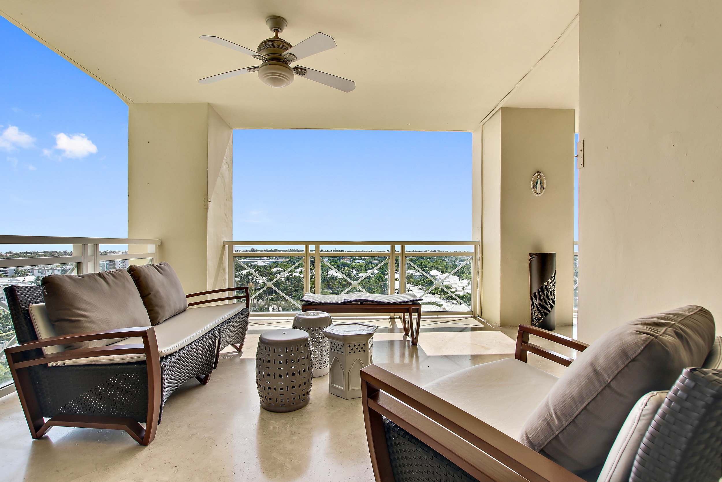 Step Inside An Exquisite Mansion In The Sky Penthouse Which Just Hit The Market In Key Biscayne's Grand Bay