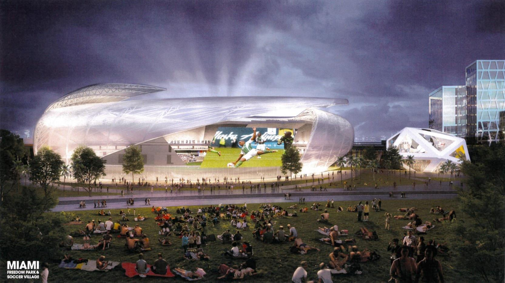Voters Approve David Beckham's $1 Billion Freedom Park By Waiving Competitive Bidding On Election Day