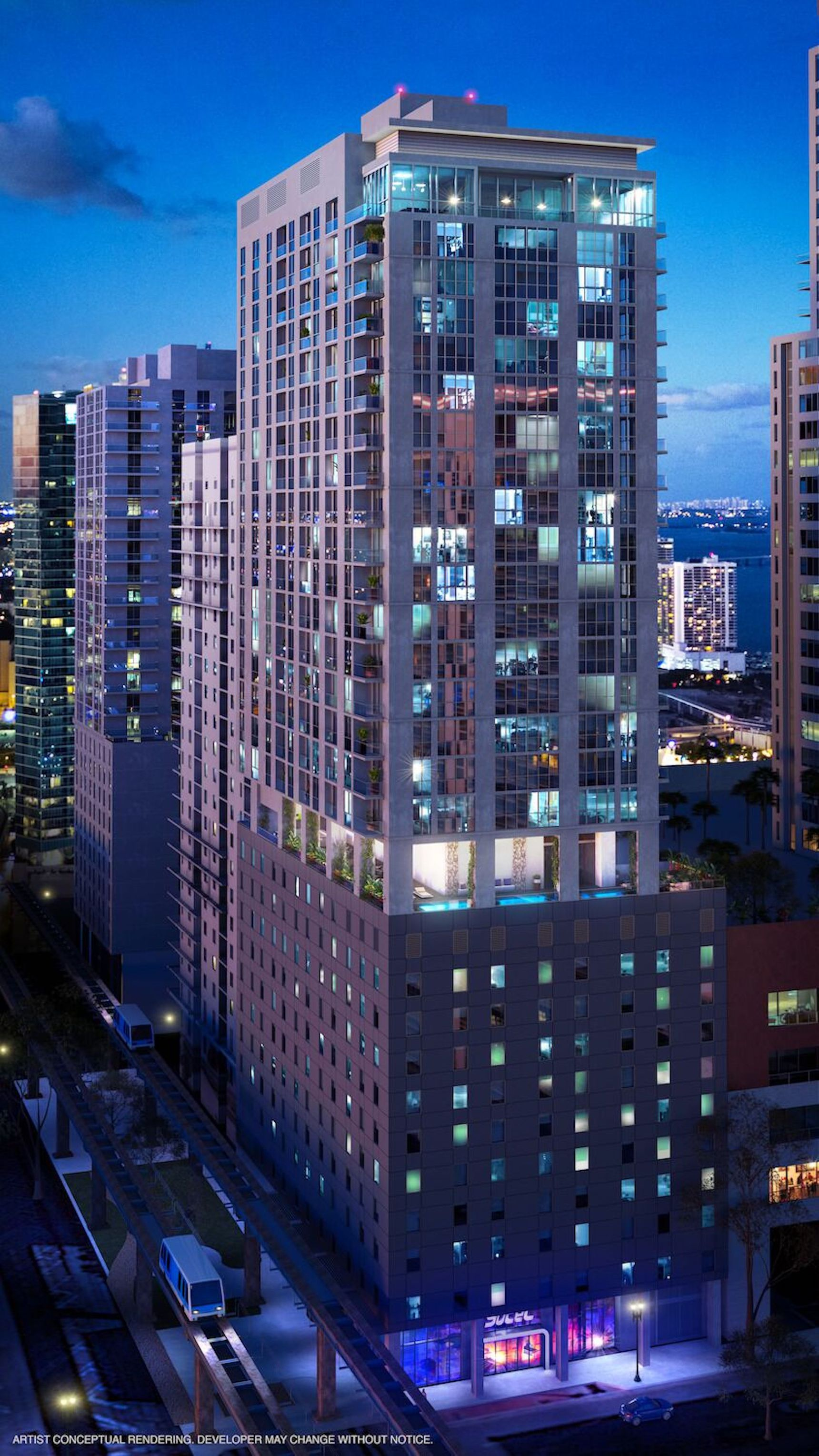 Check Out These Newly Released Renderings of YotelPad Which Is Set To Break Ground In Downtown Miami Q4 2018