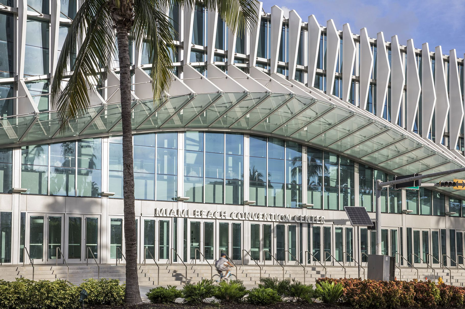 Check Out How The Renovation Of The The Miami Beach Convention Is Coming Along