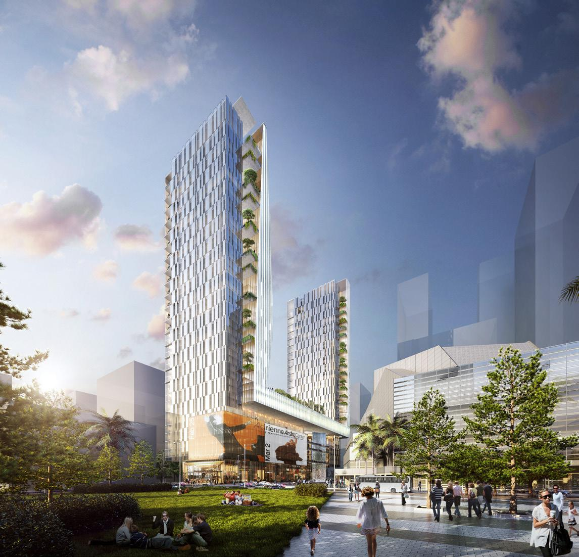 Crescent Heights Proposes 60-Story Mixed-Use Project At 1370 NE 2nd Ave. In Downtown Miami