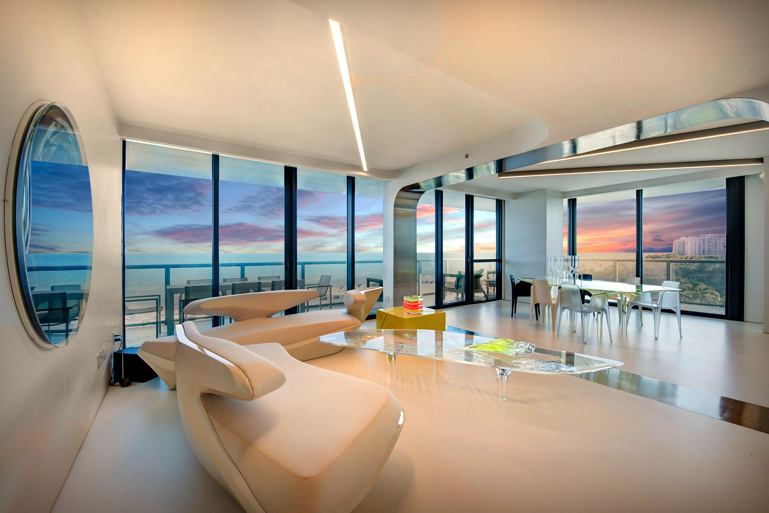 Pritzker-Prize Winning Architect Zaha Hadid's Personal W South Beach Condo Sells For $5.75 Million