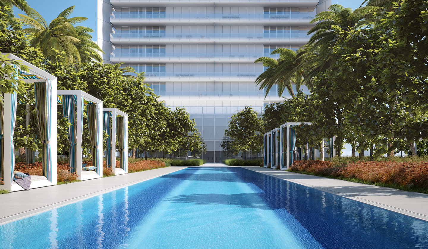 Construction At OKO Group's Missoni Baia Goes Vertical In Edgewater