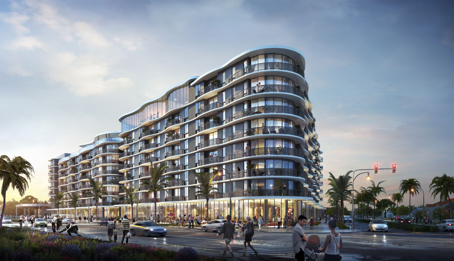 Blvd 57 LP Signs Utilities Deal For 283 Apartments At Paseo At 5700 Biscayne Boulevard