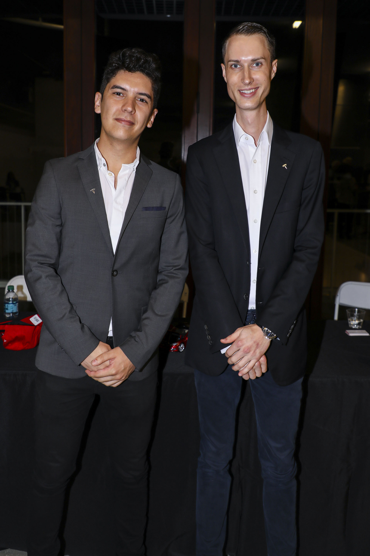 Dario Gomez and James Bennett.