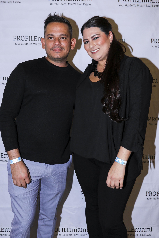 Elieser Duran and Trisha Litzau.