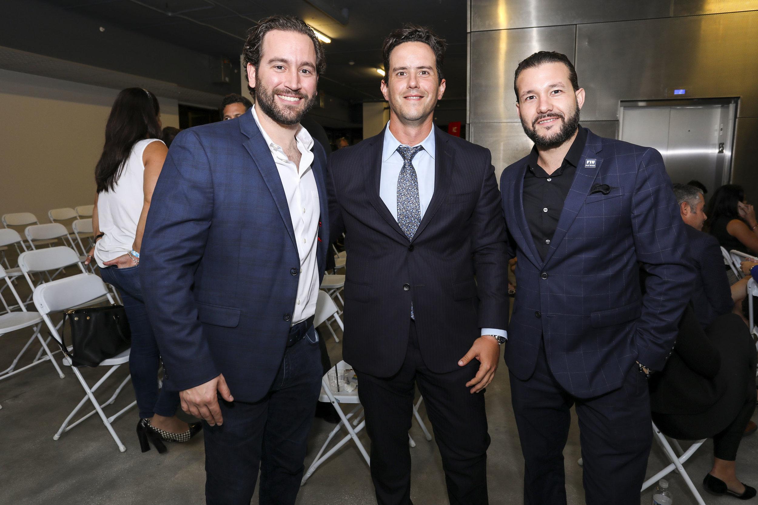 Freddy Diaz, Denis Ramos and Manuel Vidal.