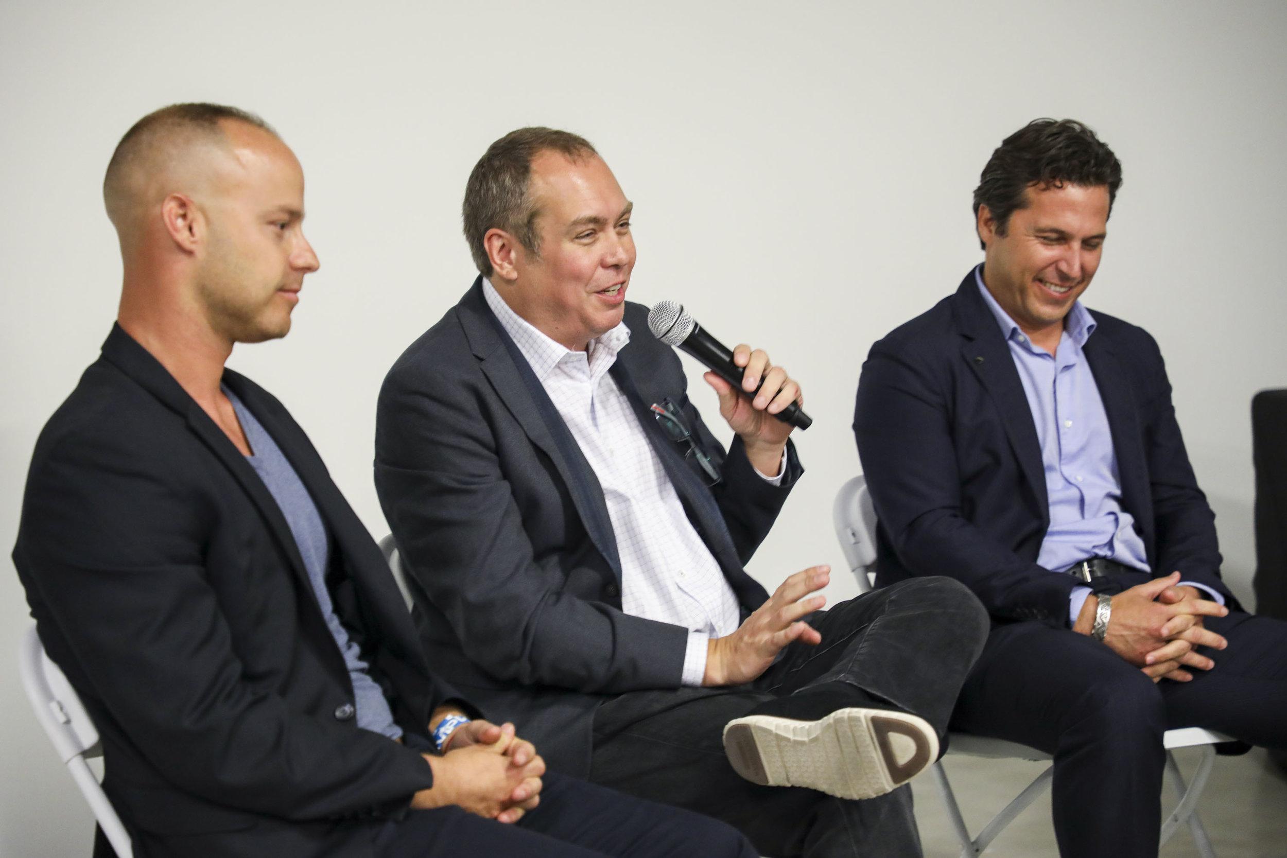 Jeremy Waks, Jon Cardello and Martin Pinilla.