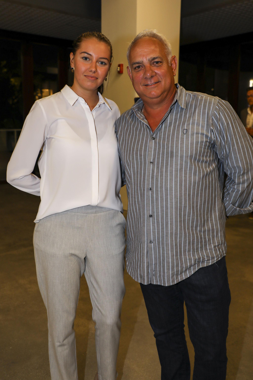 Kate Pavlenke and Alex Leiter.