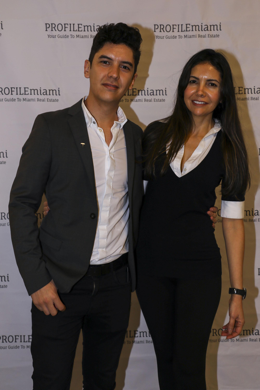 Dario Gomez and Erika Yepesv.