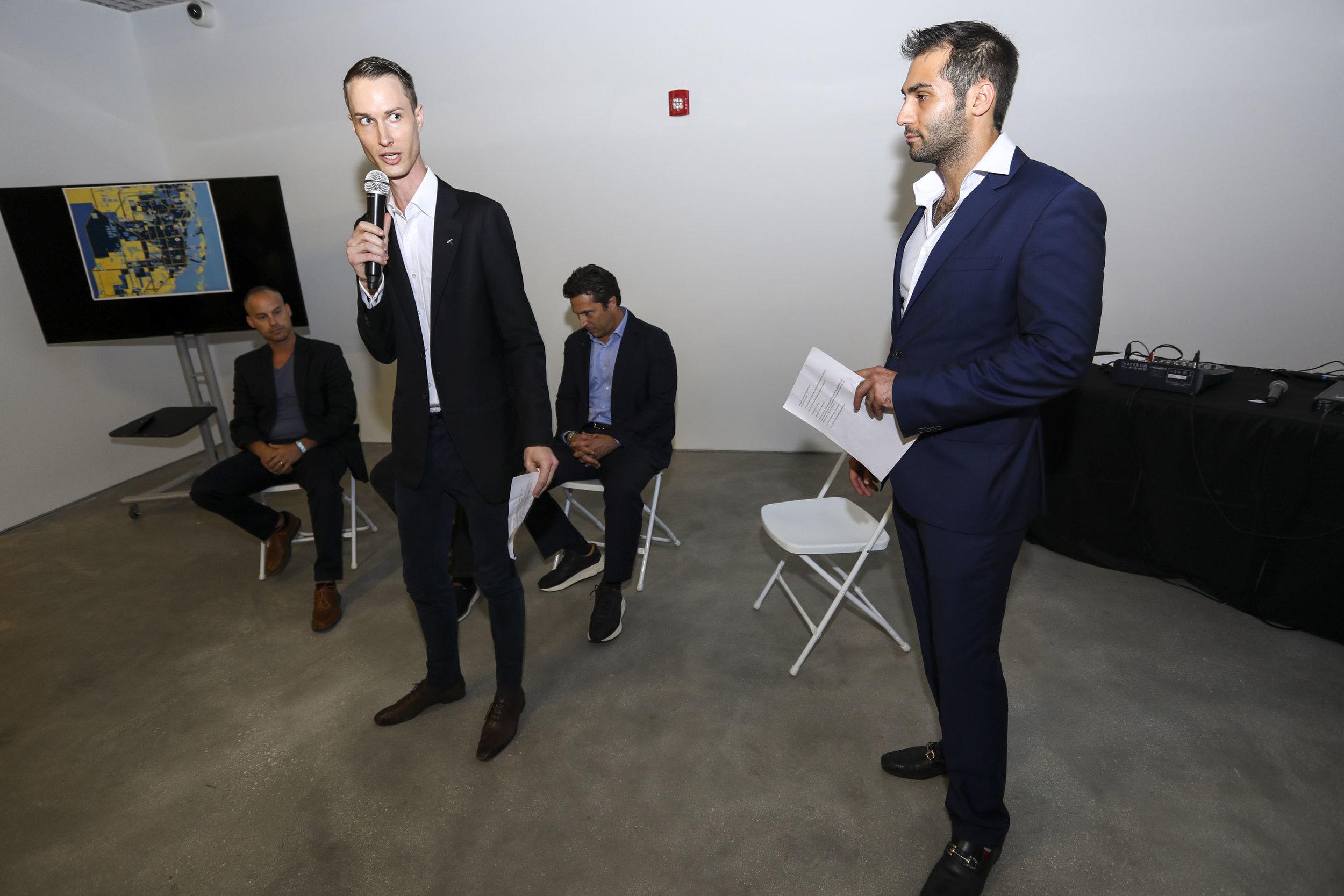 James Bennett & Demetri Demascus Inside The PROFILEmiami Fall Real Estate Showcase & Forum 2018