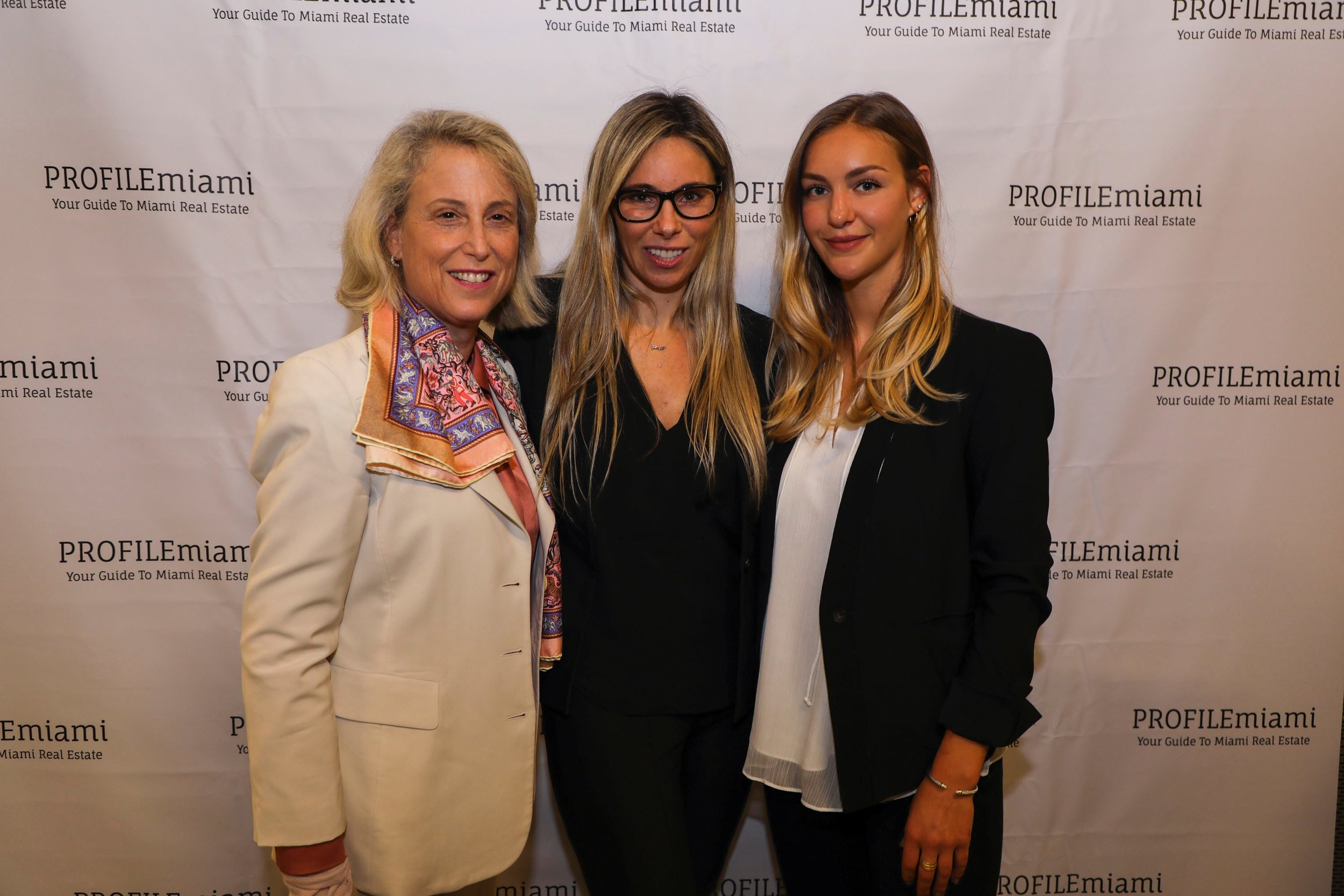 Dana Goldman, Kimberly Prior and Katya Demina.