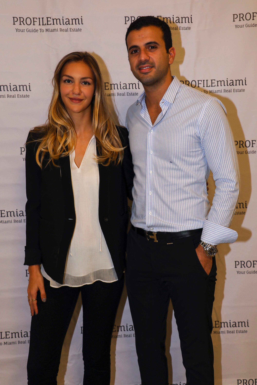 Katya Demina and Nathan Kakon.
