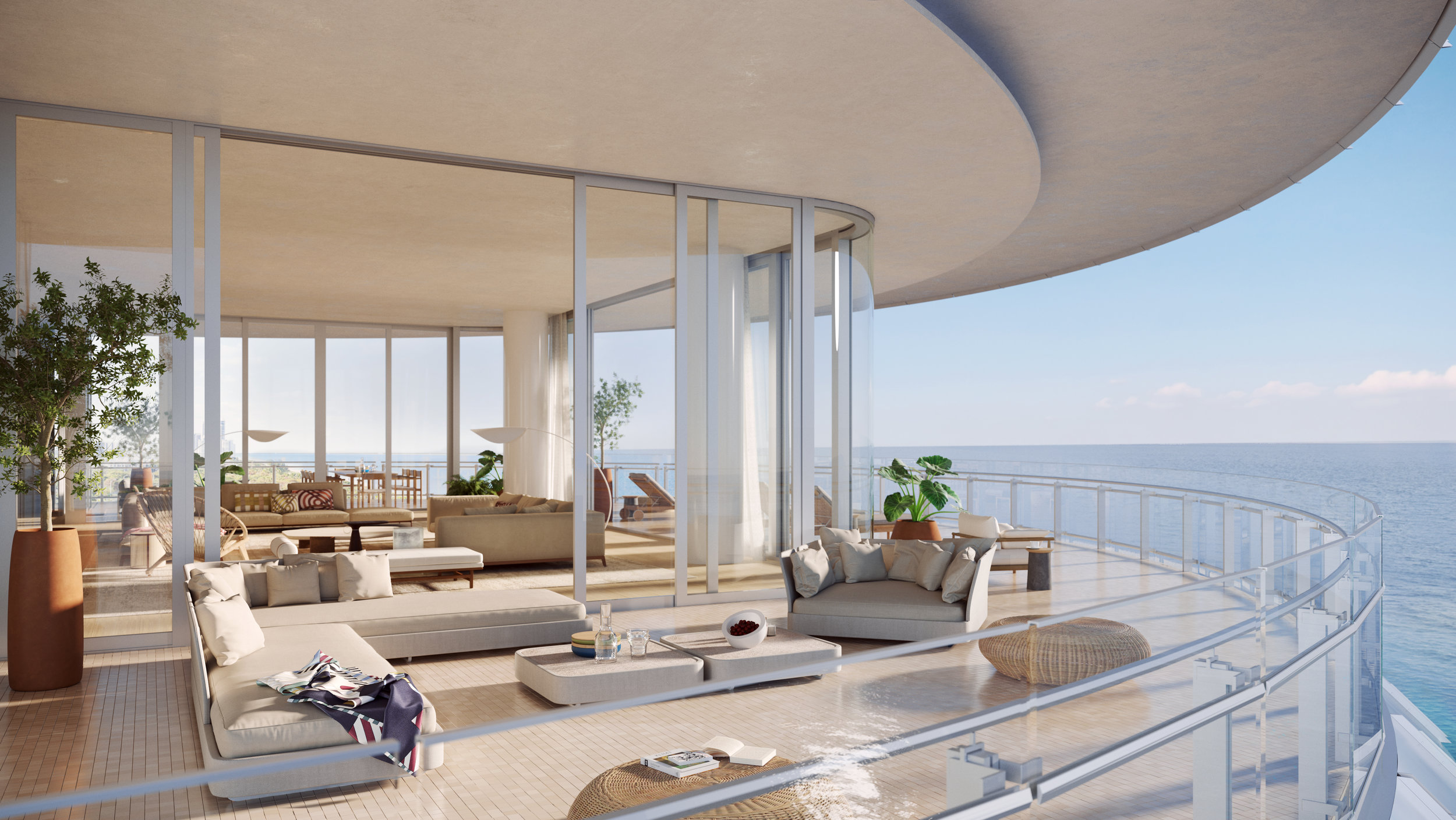 Renzo Piano's Eighty Seven Park Reveals Record-Breaking $68 Million Penthouse