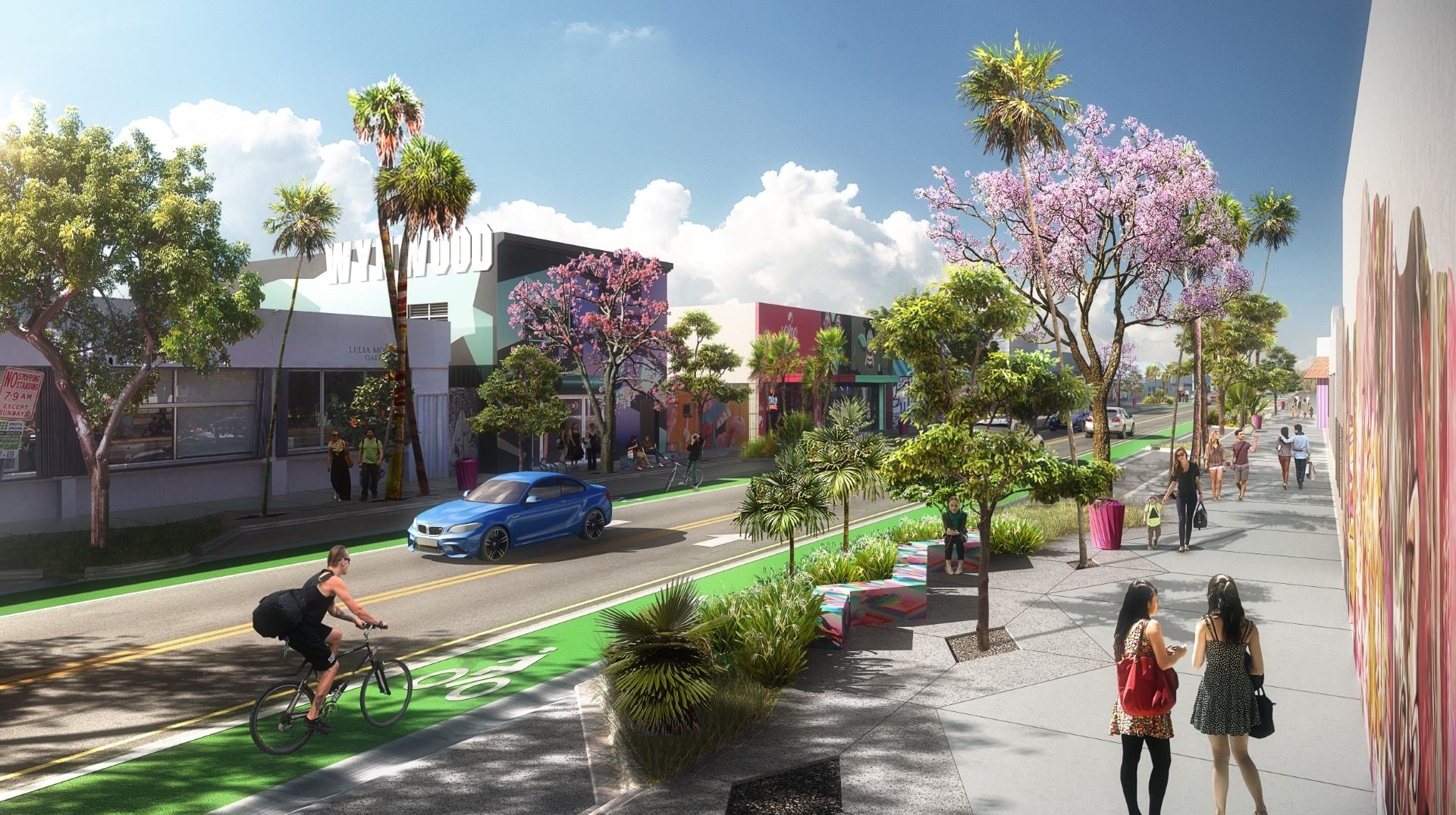 Check Out WynwoodWalks, ArquitectonicaGEO's Newly Proposed Addition To The Wynwood Streetscape