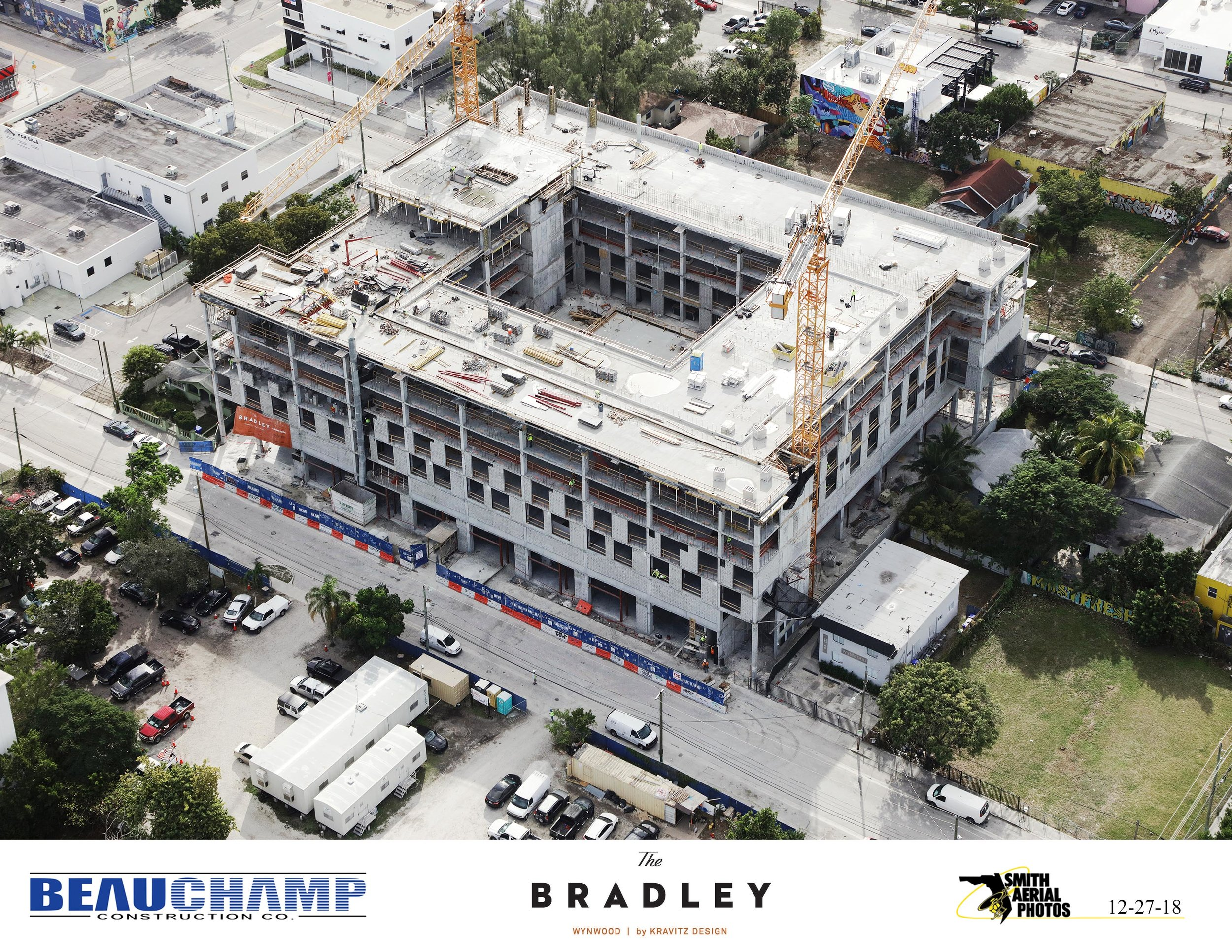 The Related Group, Block Capital and Kravitz Design's Rental Project The Bradley Tops Off In Wynwood