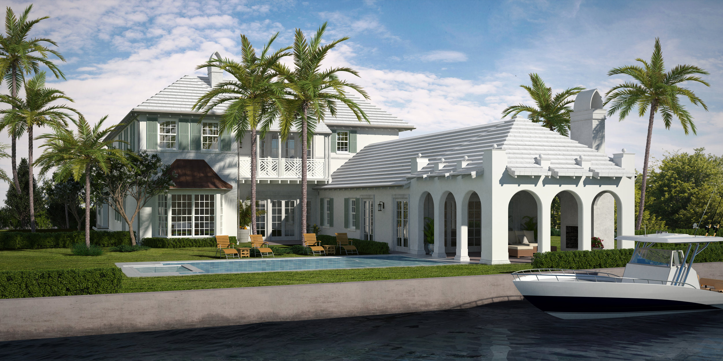 Malasky Homes Sells Palm Beach Spec Home On Everglades Island For $15.5 Million