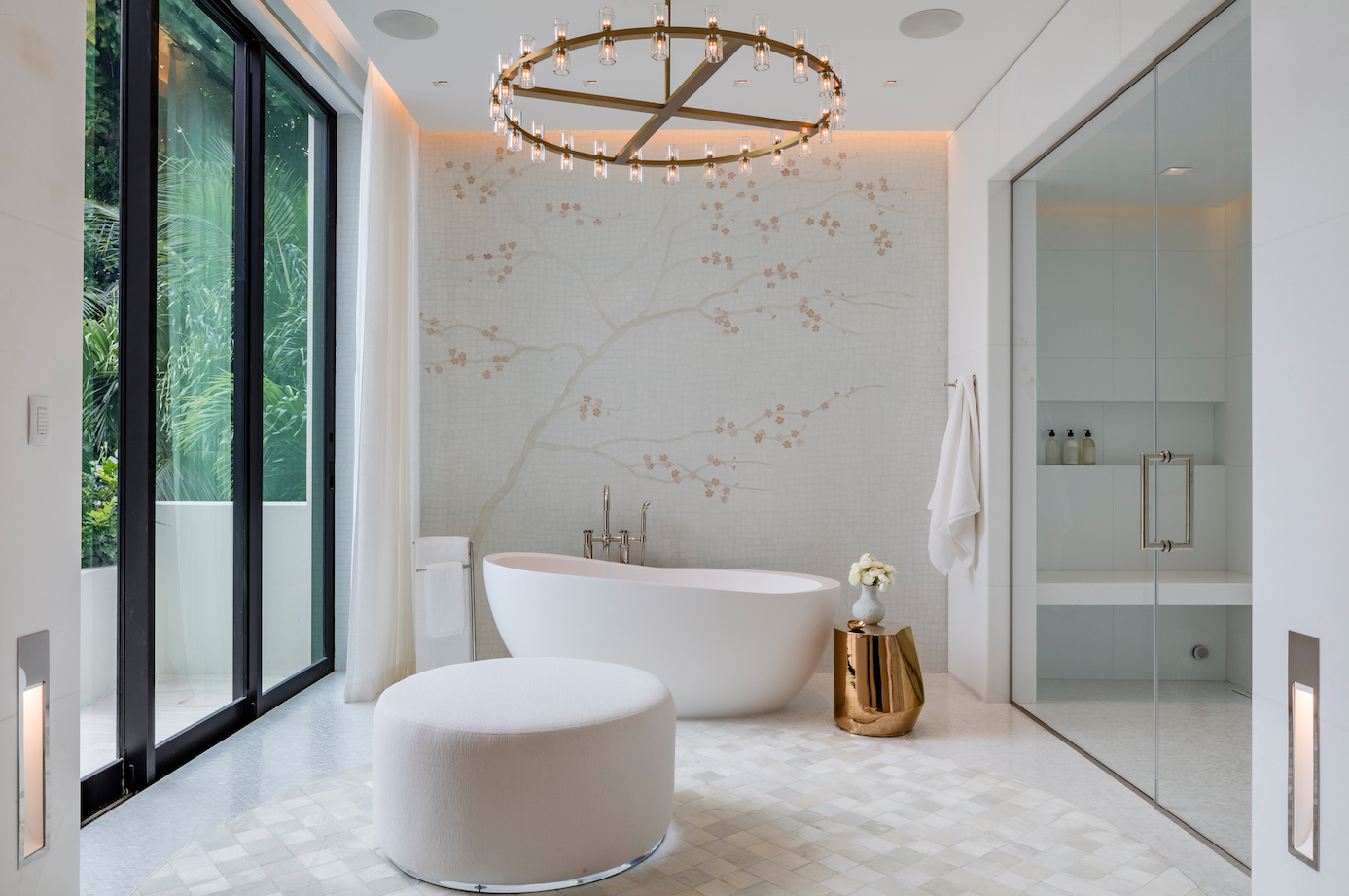 Peek Inside This Choeff Levy Fischman-Designed Waterfront Mansion In Bal Harbour Which Just Listed For $24.95 Million