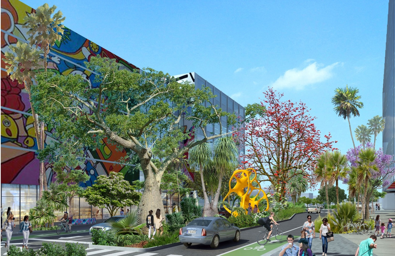 ArquitectonicaGEO's Wynwood Streetscape Master Plan Presented To Wynwood Business Improvement District
