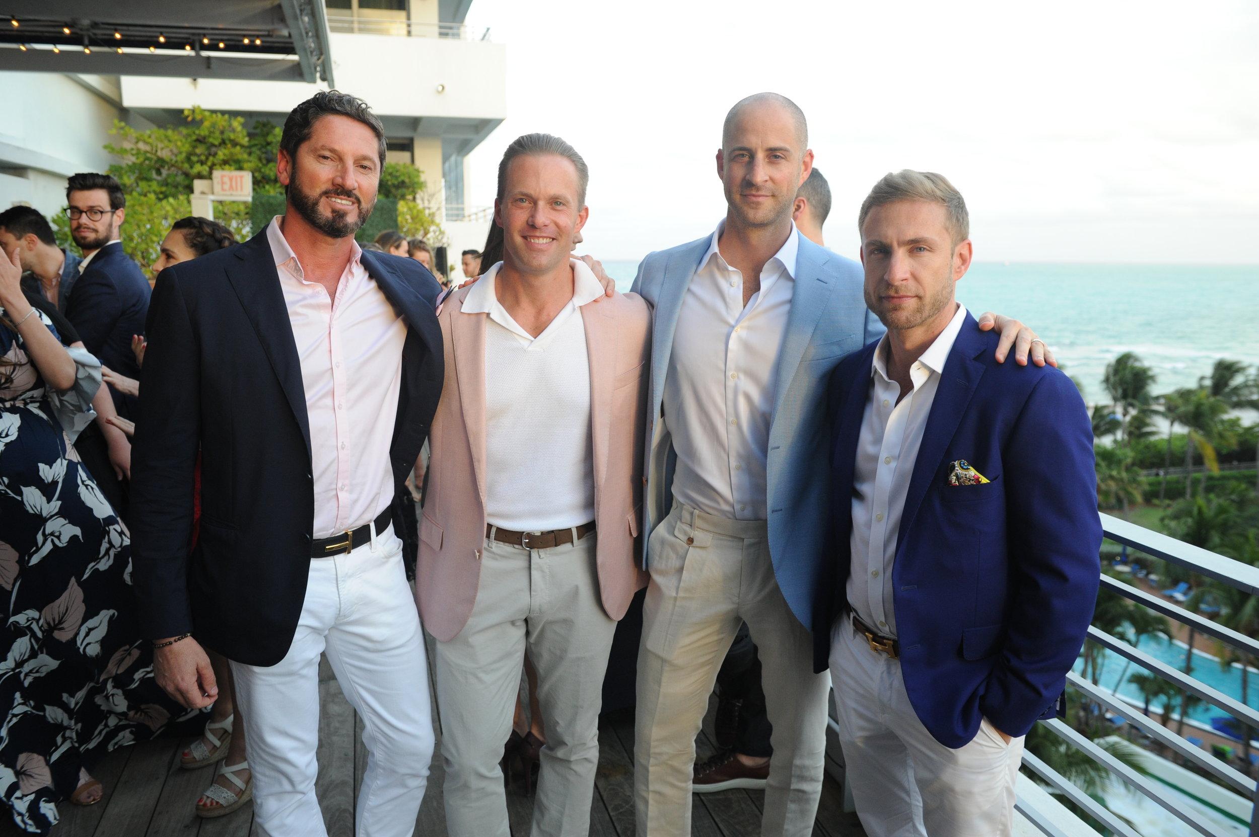 Pietro Belmonte, Darin Tansey, Dan Hechtkopf, & Jorge Sanchez