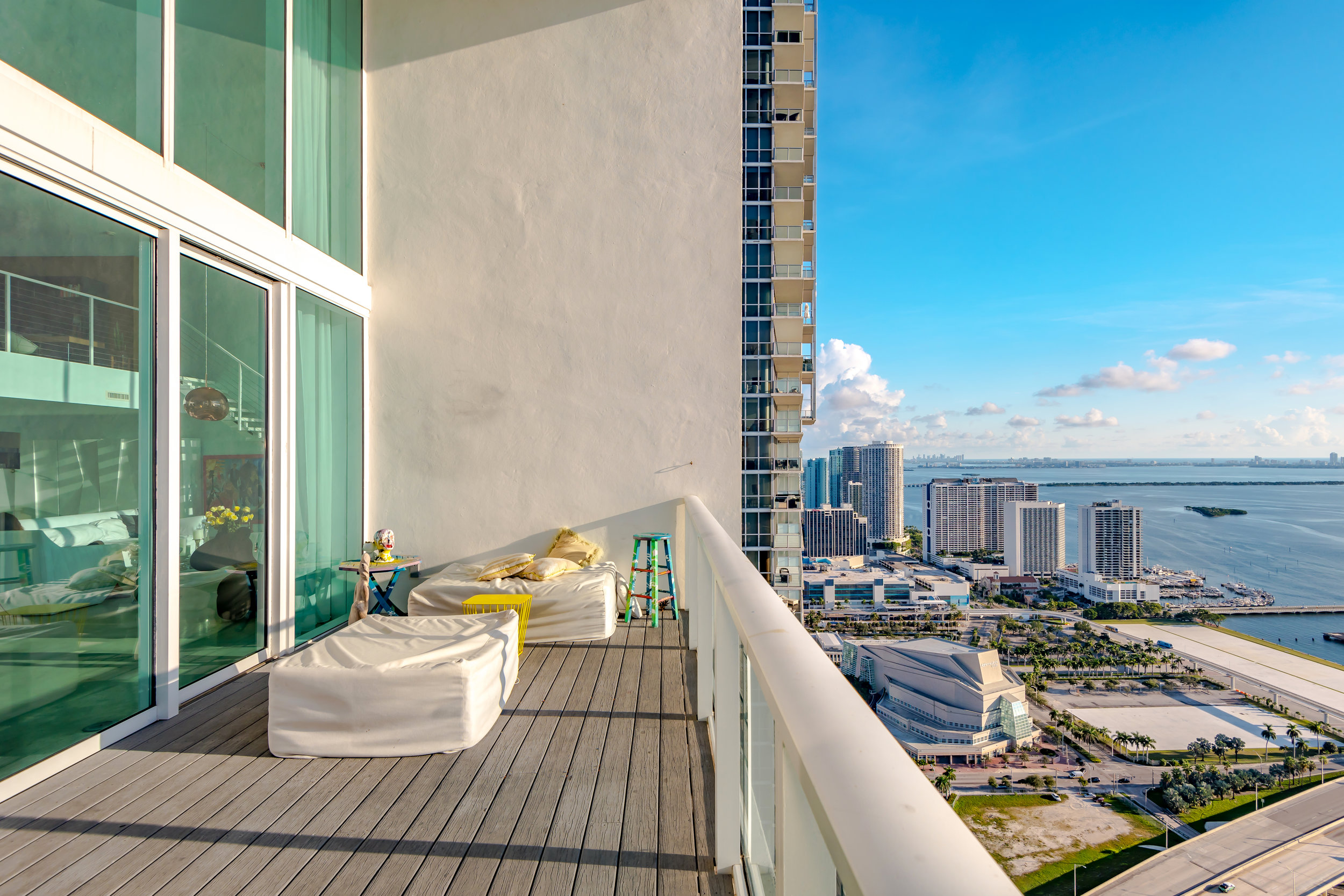 Check Out This Stunning Tri-Level Penthouse At Ten Museum Park Complete With A Rooftop Pool