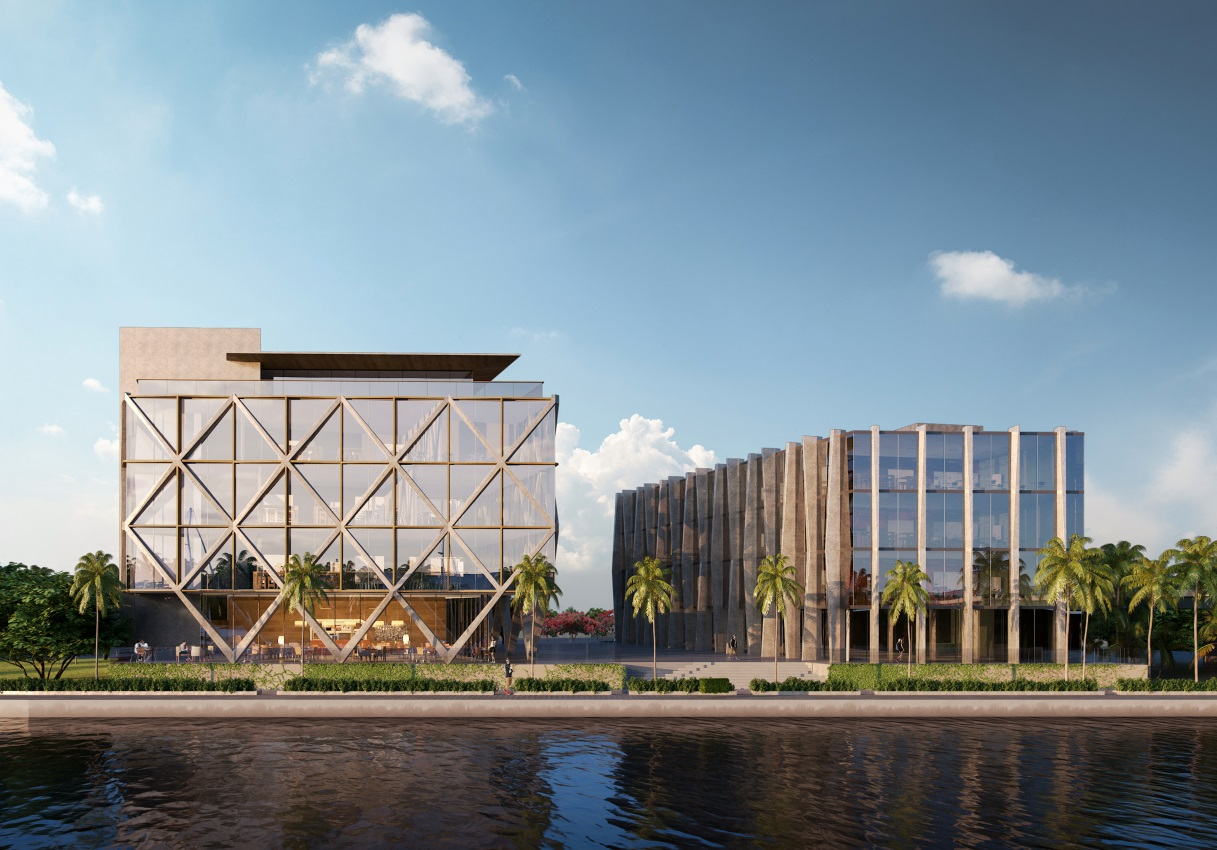 New Renderings Revealed For Naeem Khan Studios, The Designers New Headquarters & Fashion School On The Miami River