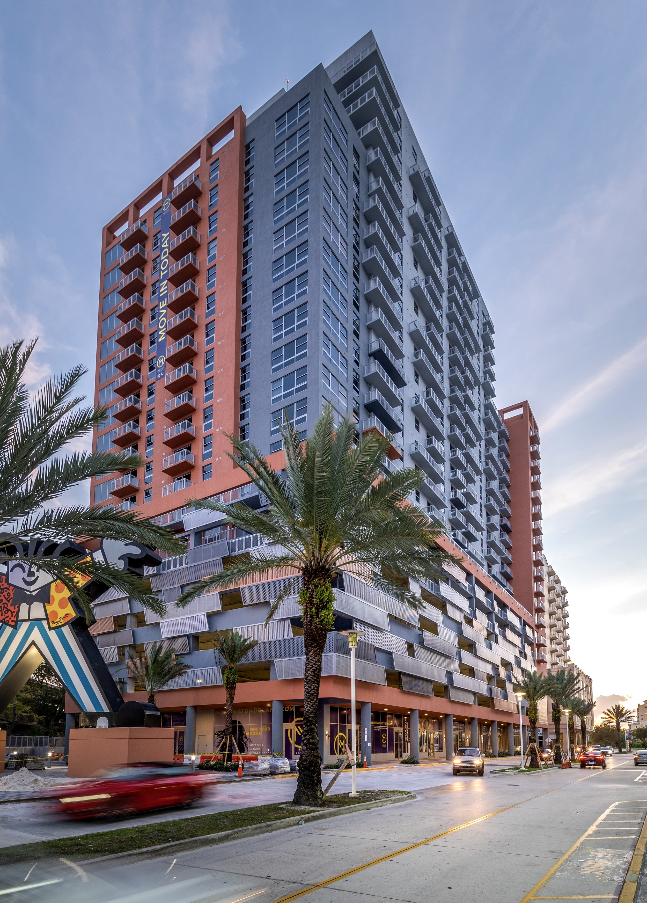 13th Floor Investments & Adler Group Complete Construction Of Transit-Oriented Motion at Dadeland Apartments