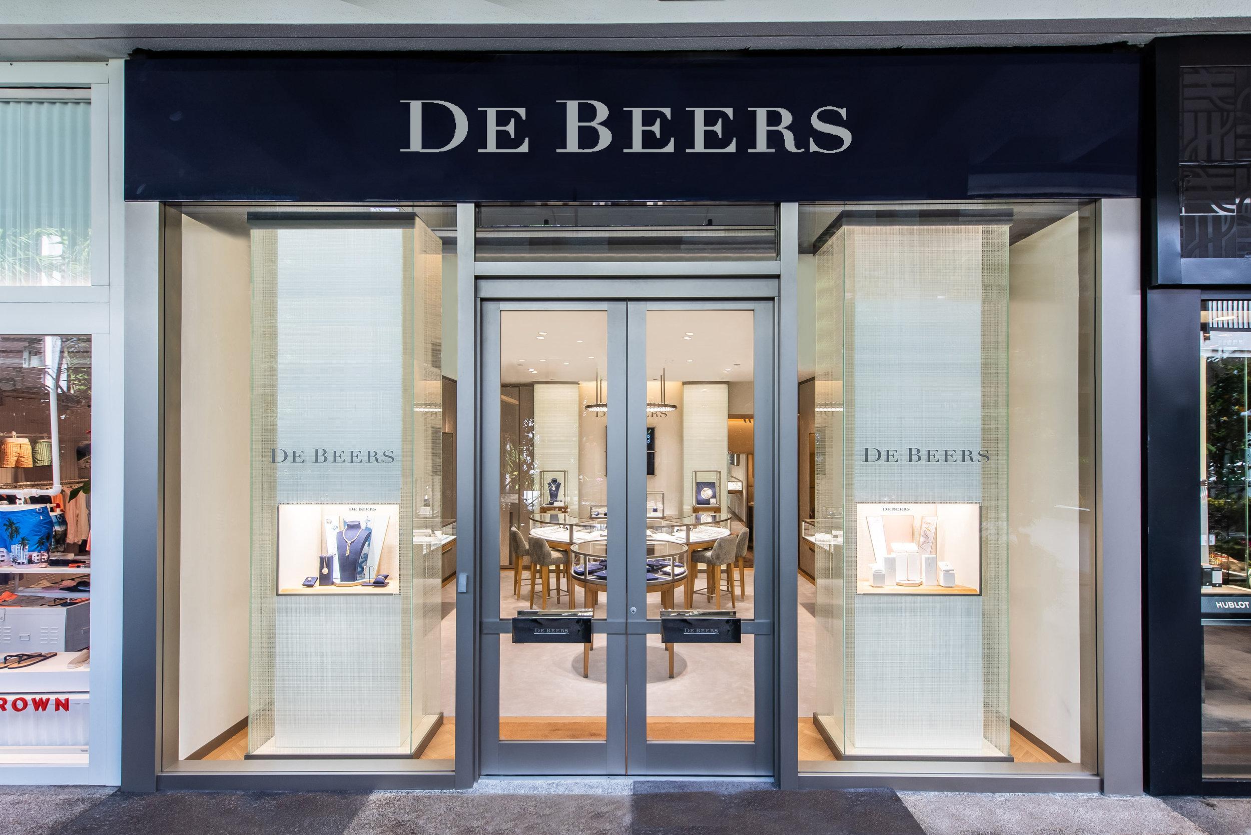 De Beers, the Legendary Home of Diamonds, Opens New Showroom At Bal Harbour Shops