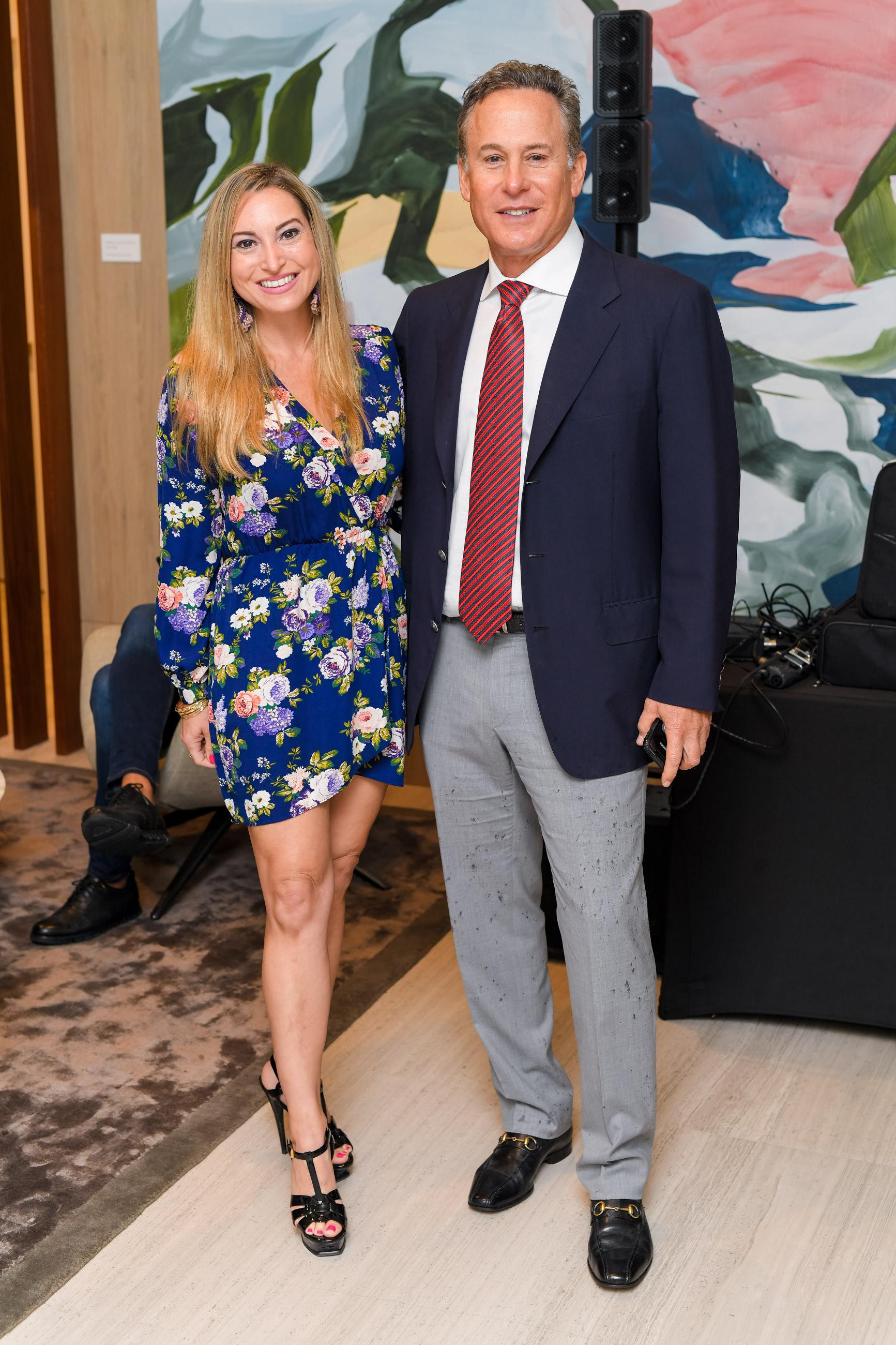 Bianca Silva and Jim Cohen