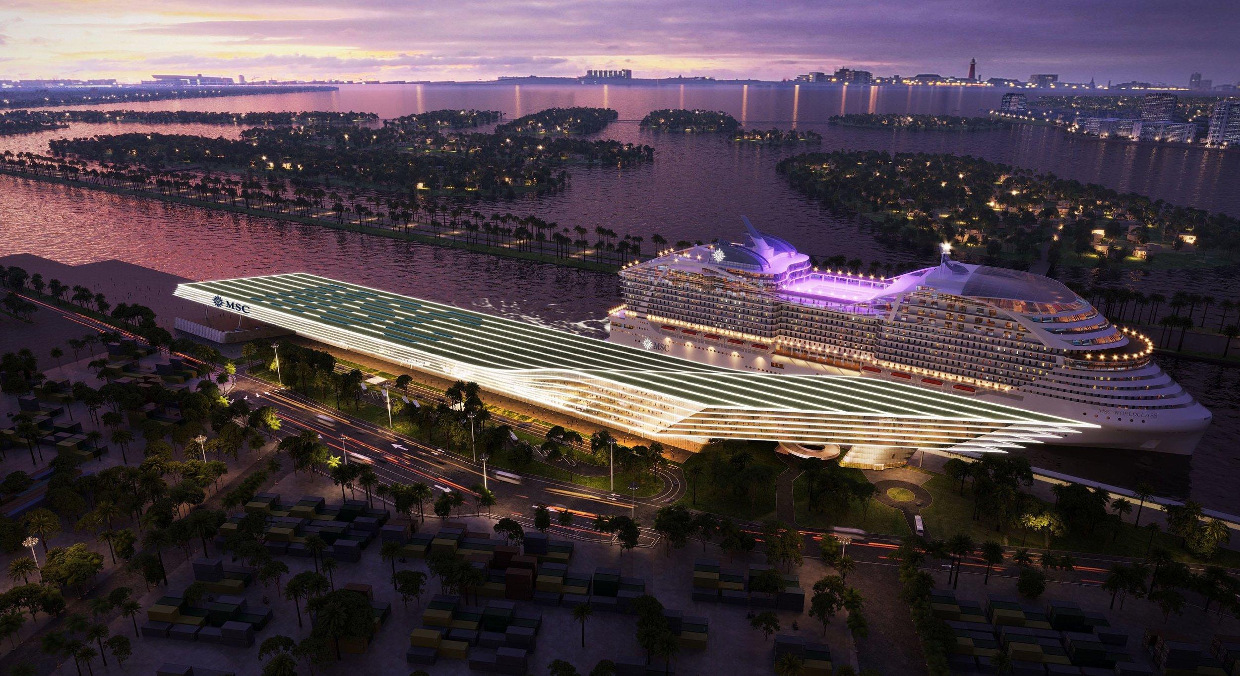 MSC Cruises Reveals Supersized Arquitectonica-Designed Cruise Terminal In PortMiami