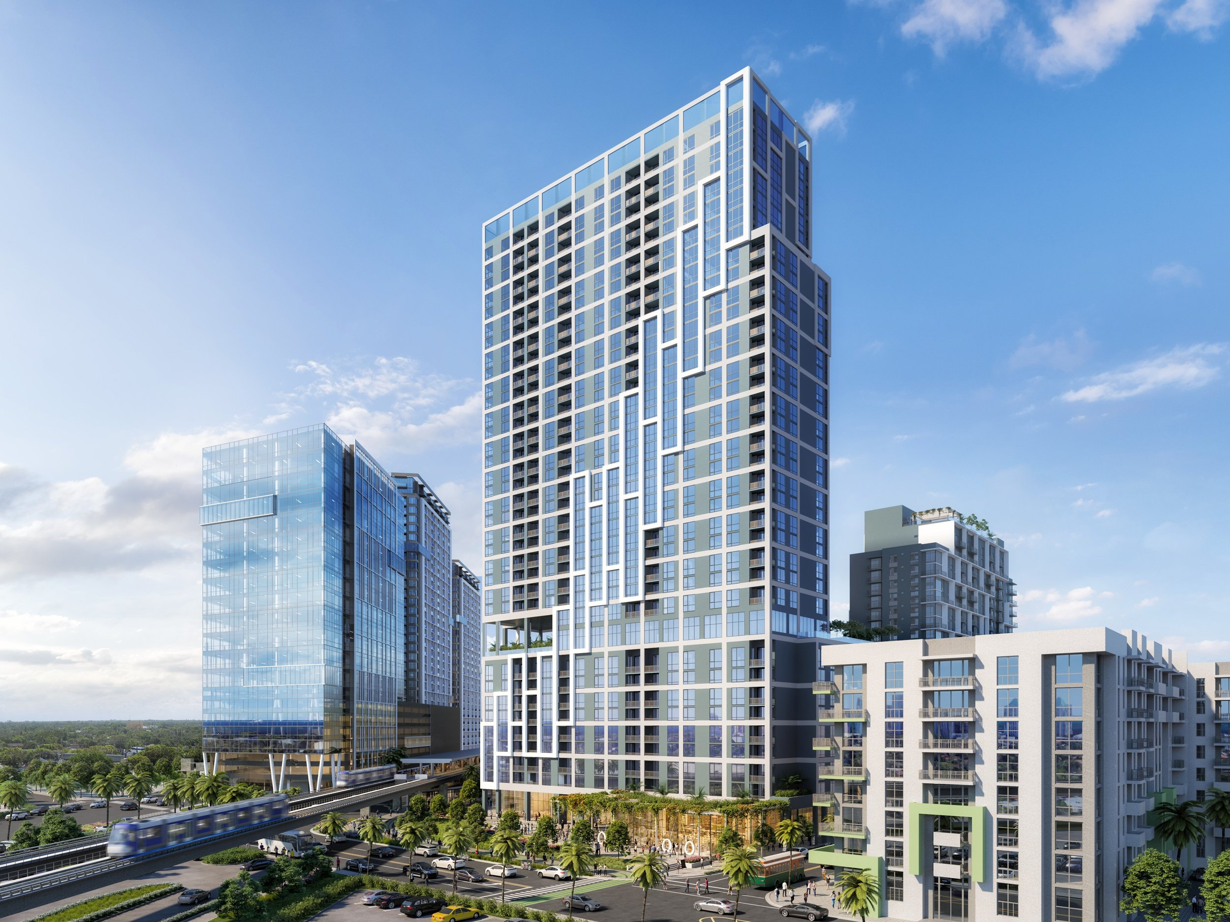 13th Floor Investments & Adler Group Break Ground On The Transit Oriented Link at Douglas