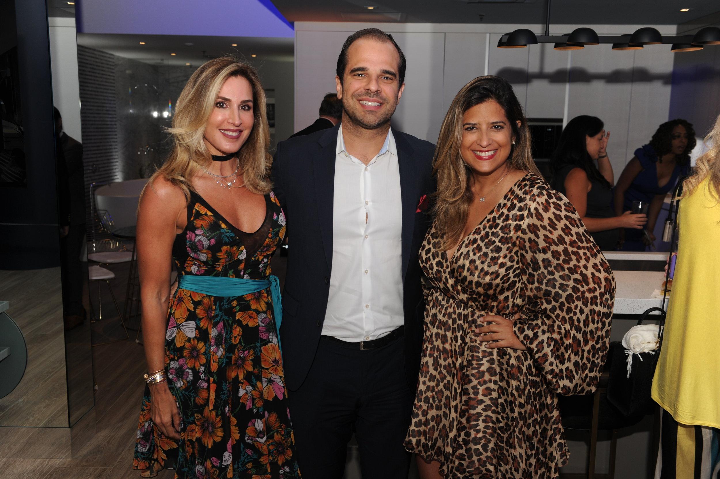 Jennifer Behar Cervera, Nicolas Barbara, & Yanet Decastro