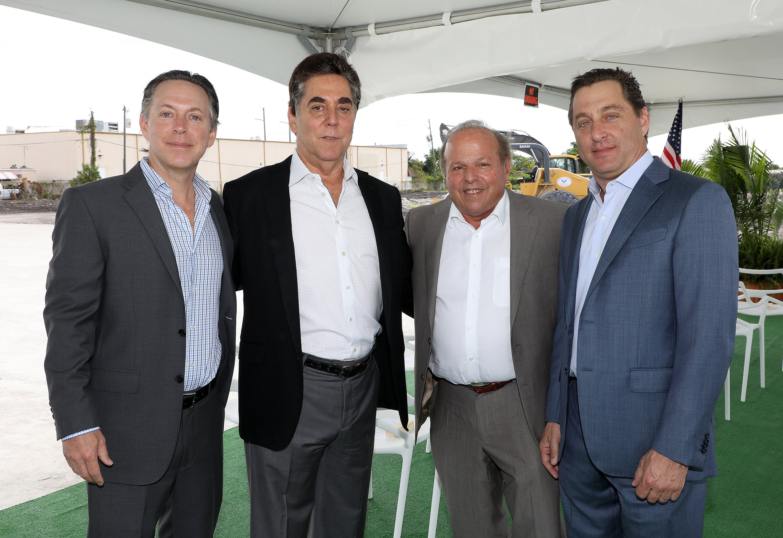Coral Rock Development Group Principals: Victor Brown, Stephen A. Blumenthal, Michael Wohl and David Brown