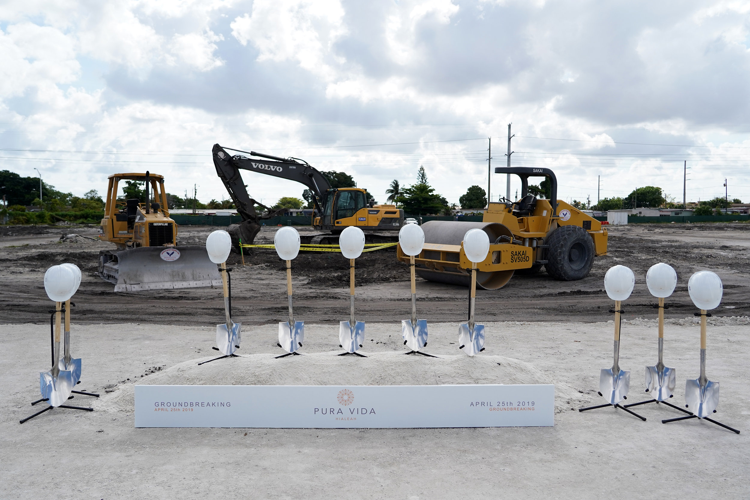 Coral Rock Development Group & Arena Capital Holdings Break Ground On Pura Vida Hialeah