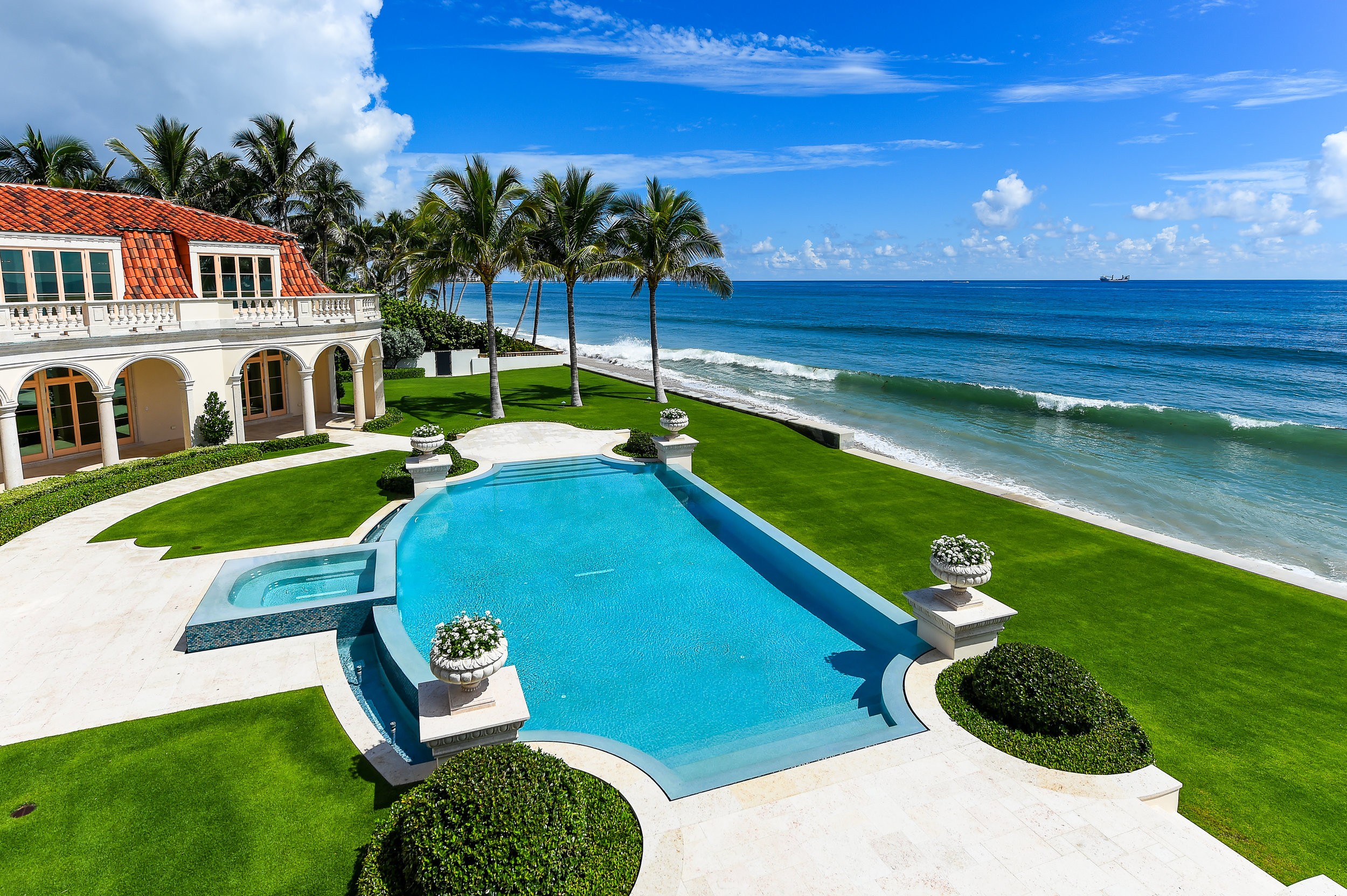 Step Inside The Ultra-Luxe Beachfront Estate 1071 North Ocean Boulevard In Palm Beach
