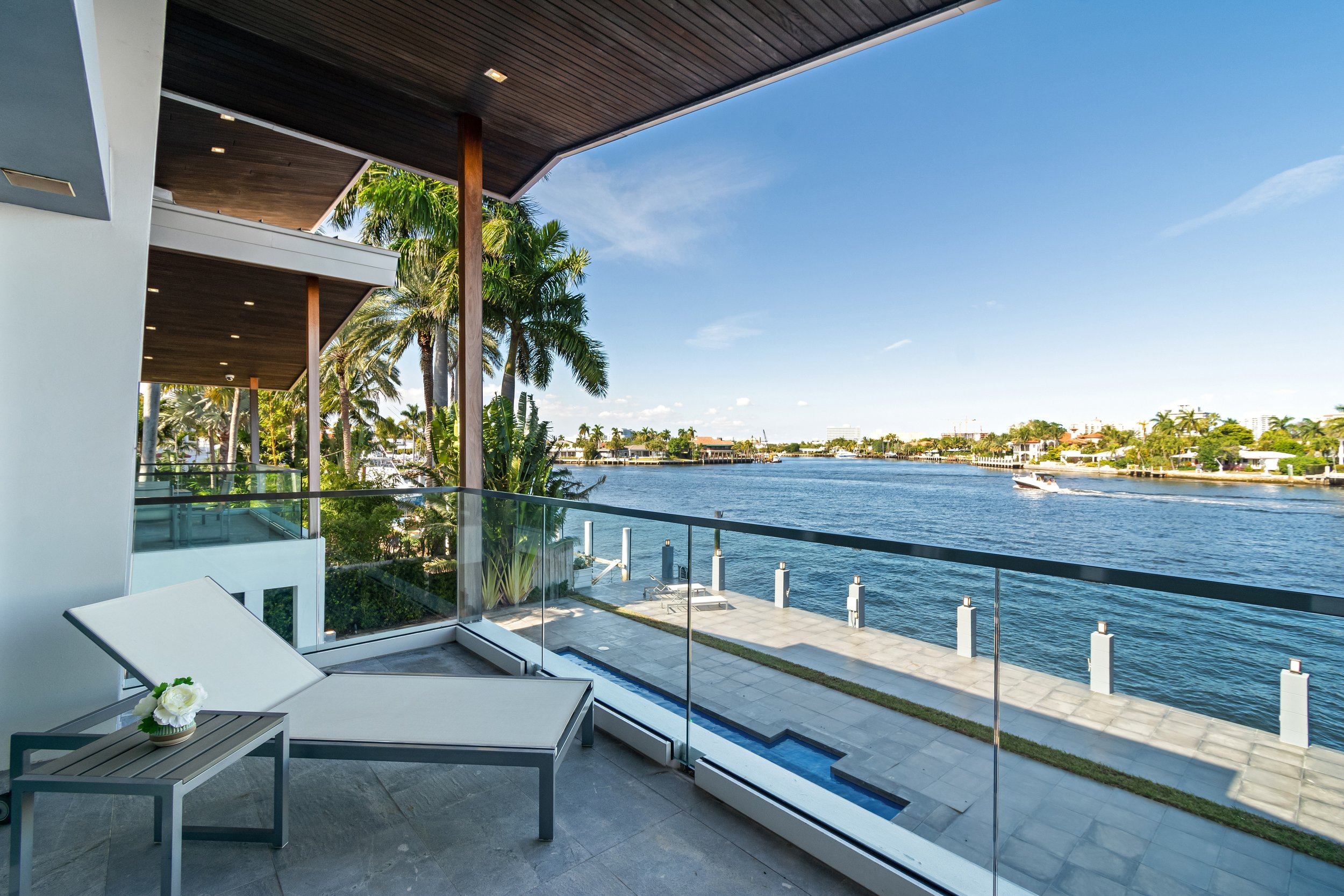 Check Out This Frank Lloyd Wright Inspired Waterfront Home In Fort Lauderdale Asking $5 Million
