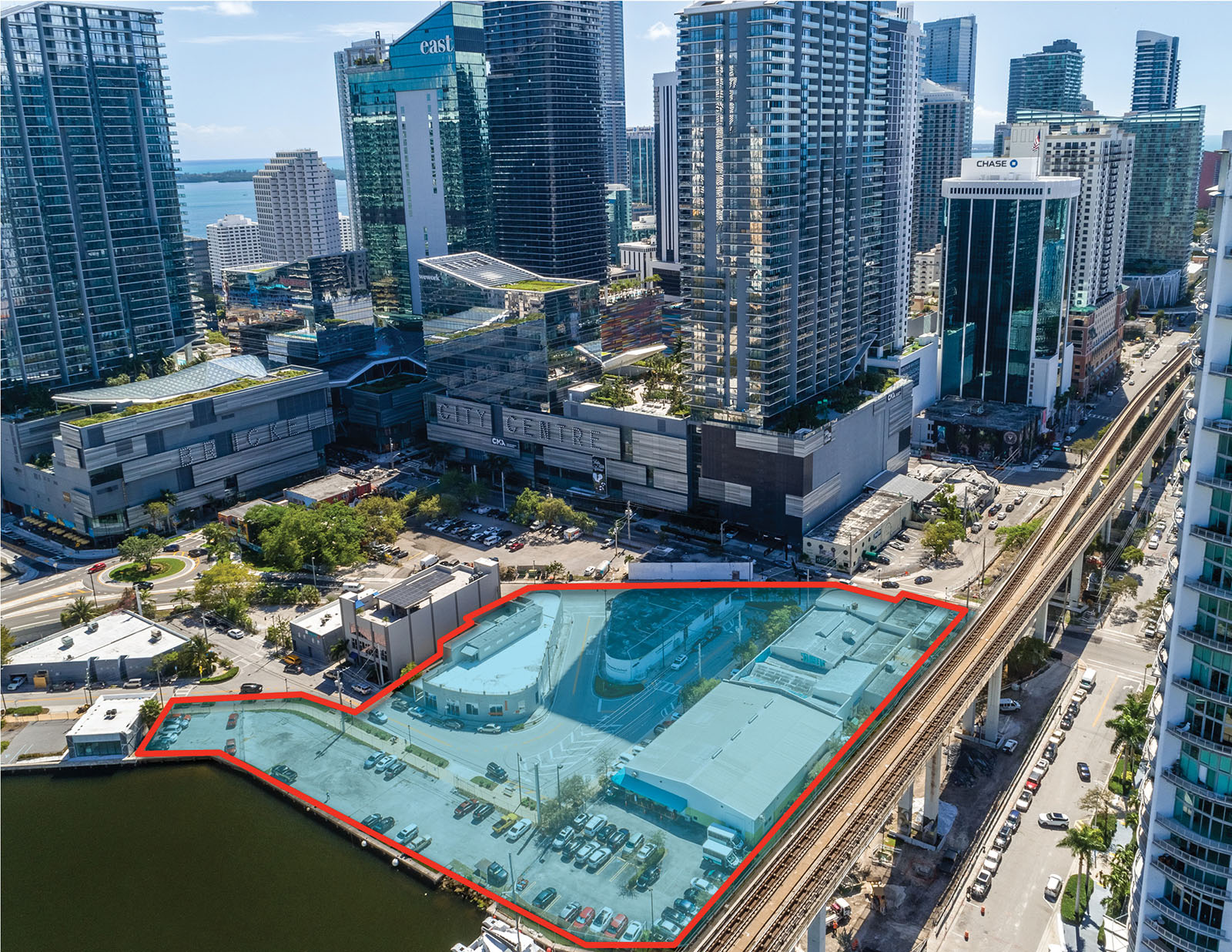 Avison Young Lists Last Development Site In Brickell Comprised Of 3 Parcels Along The Miami River