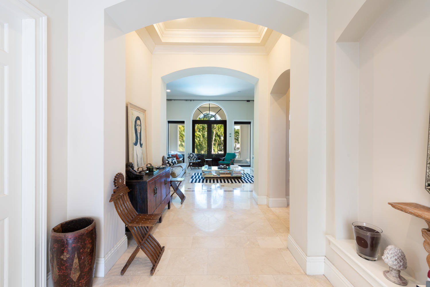 1561 Agua Ave Gables Consul of Switzerland Lists Waterfront Coral Gables Home For $2.245 Million